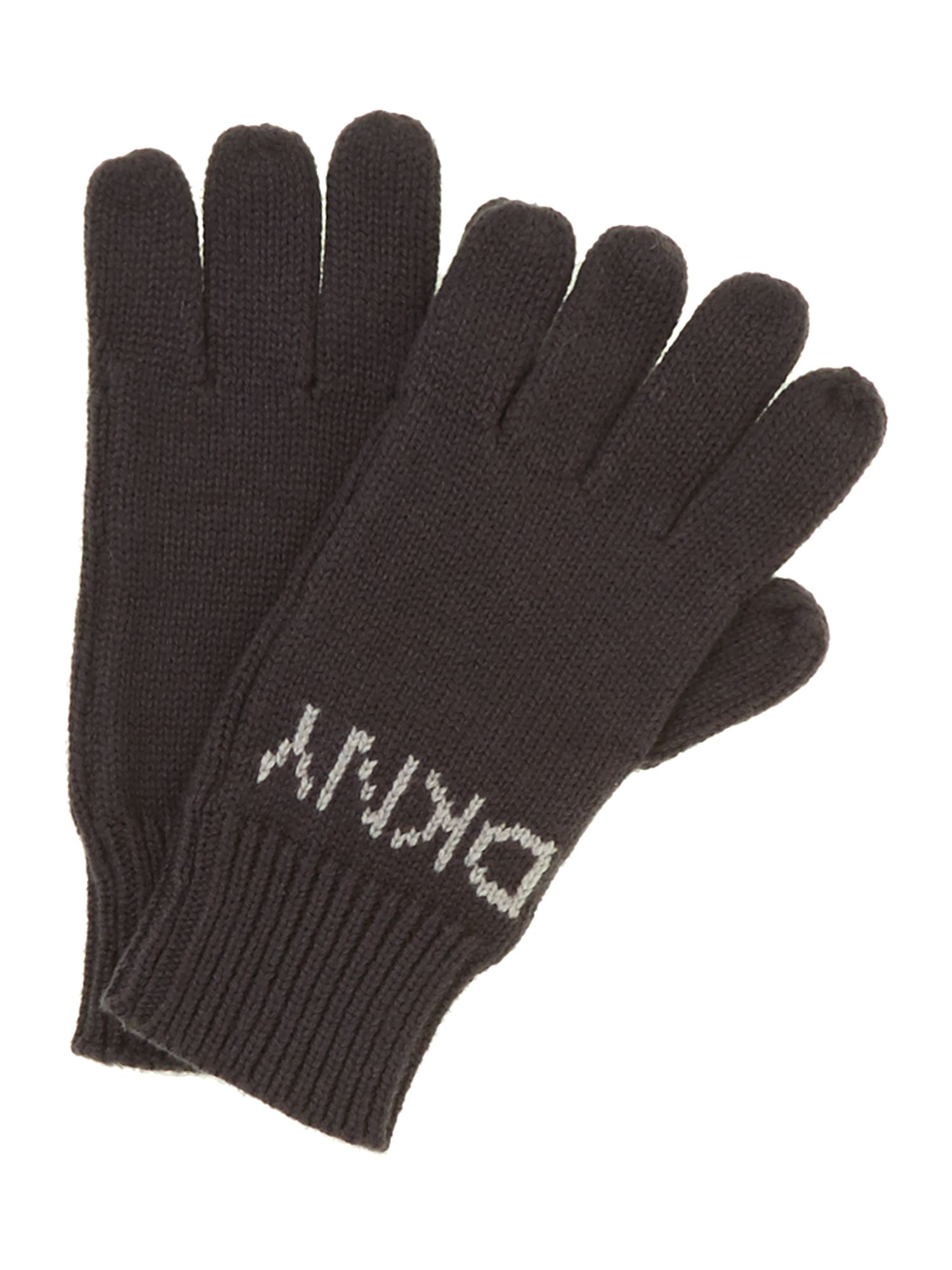 Boy`s knitted gloves