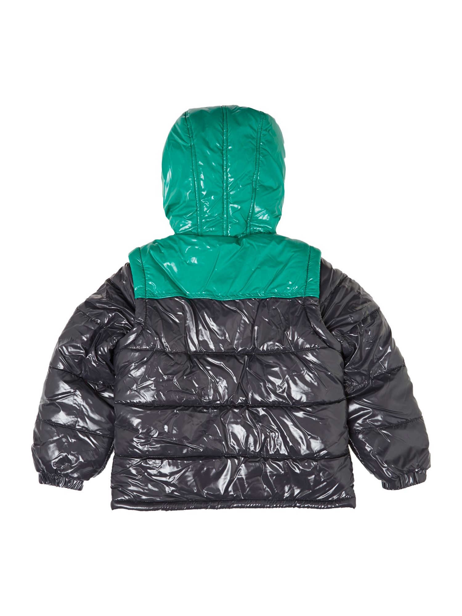 Boy`s long sleeve down jacket