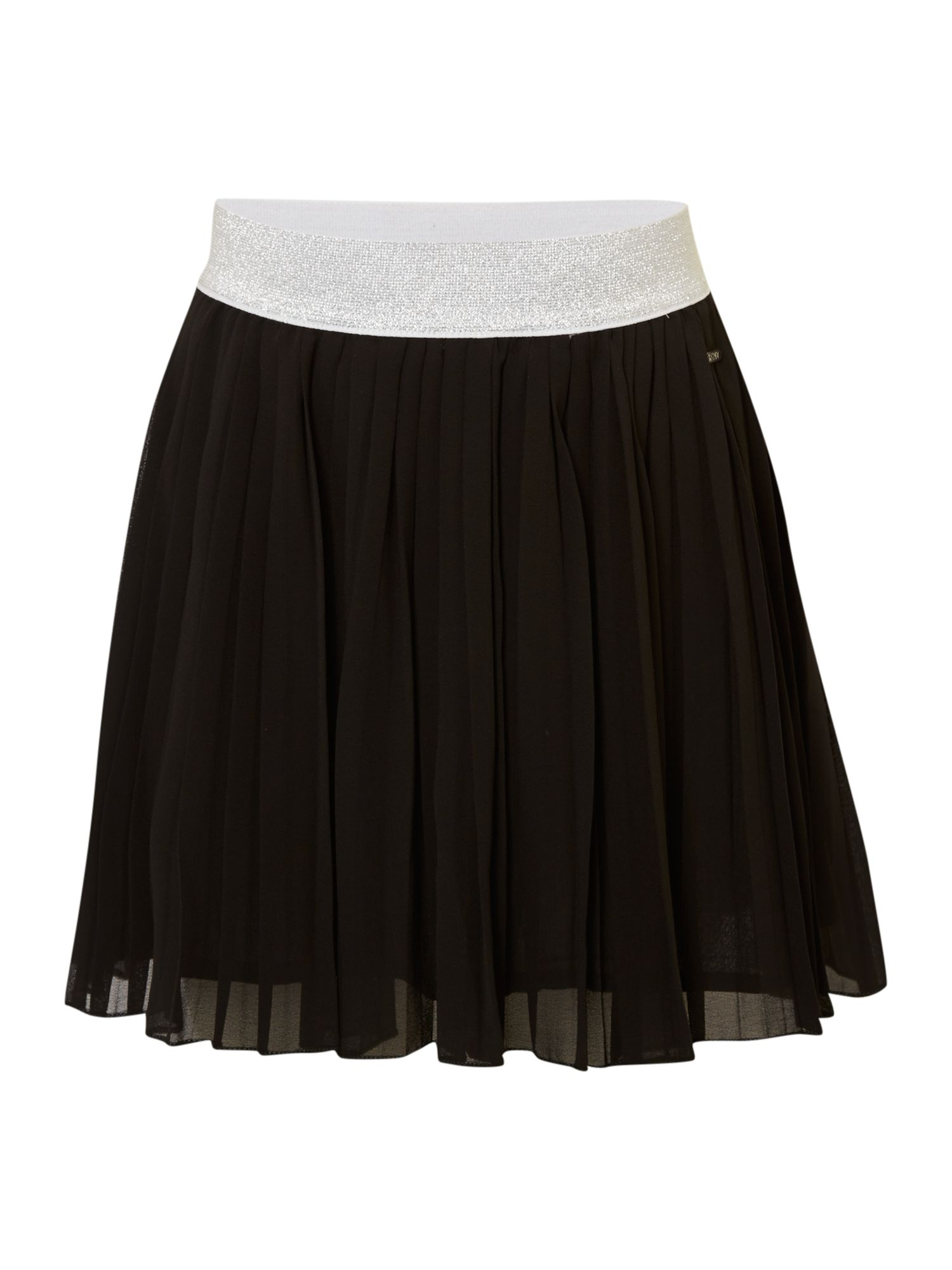 Girl`s pleated skirt
