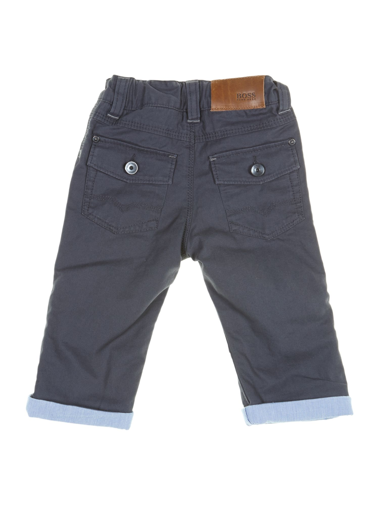 Boy`s cotton twill trousers