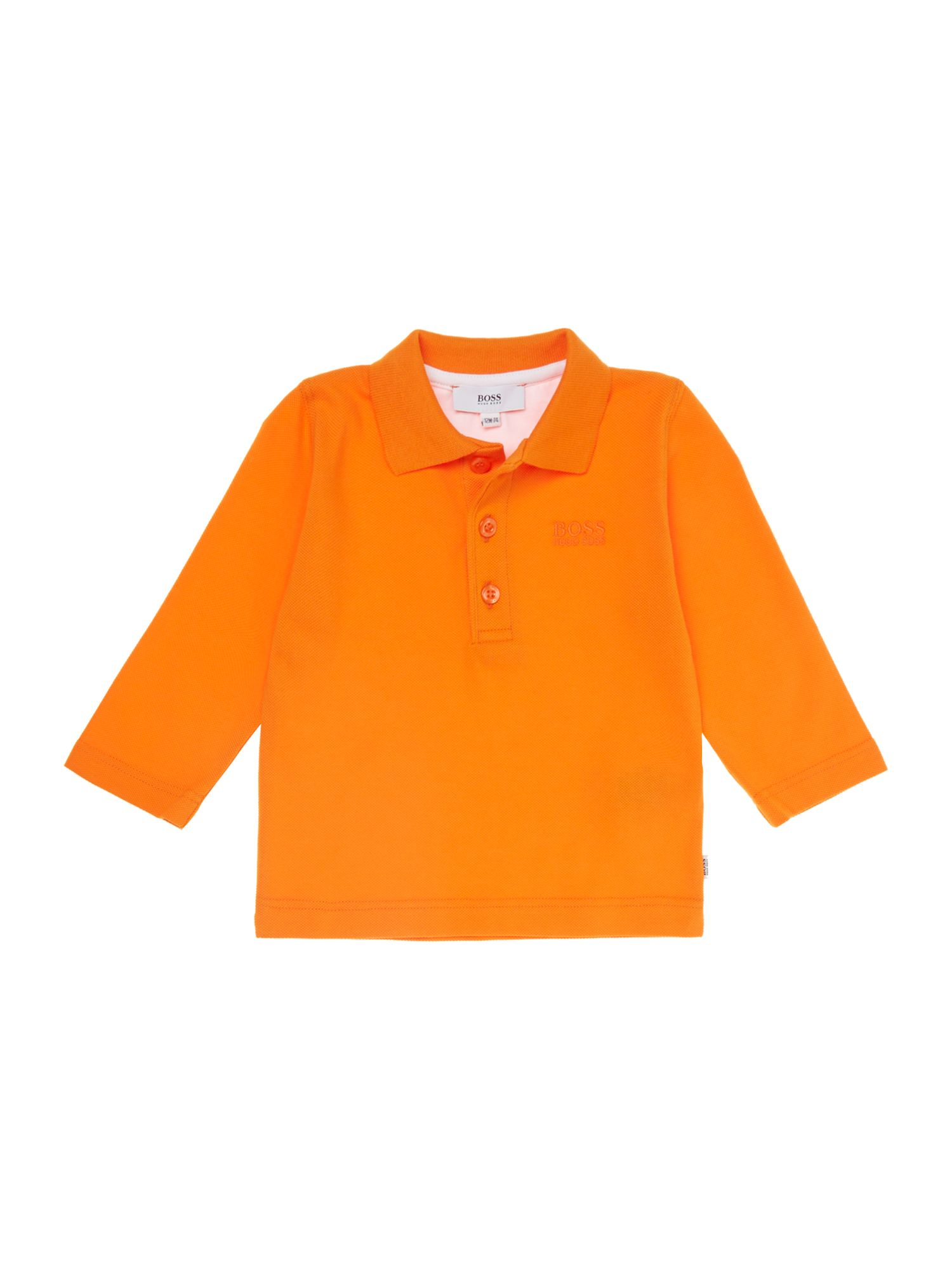 Toddler boy`s short sleeve polo shirt