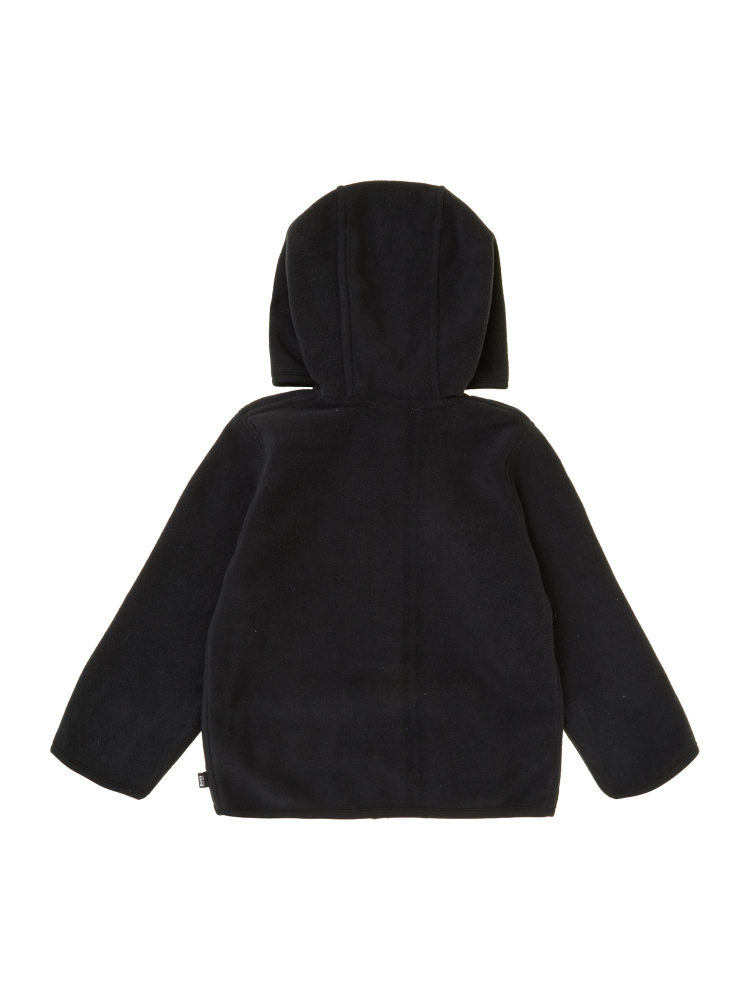 Boy`s long sleeve hooded cardigan