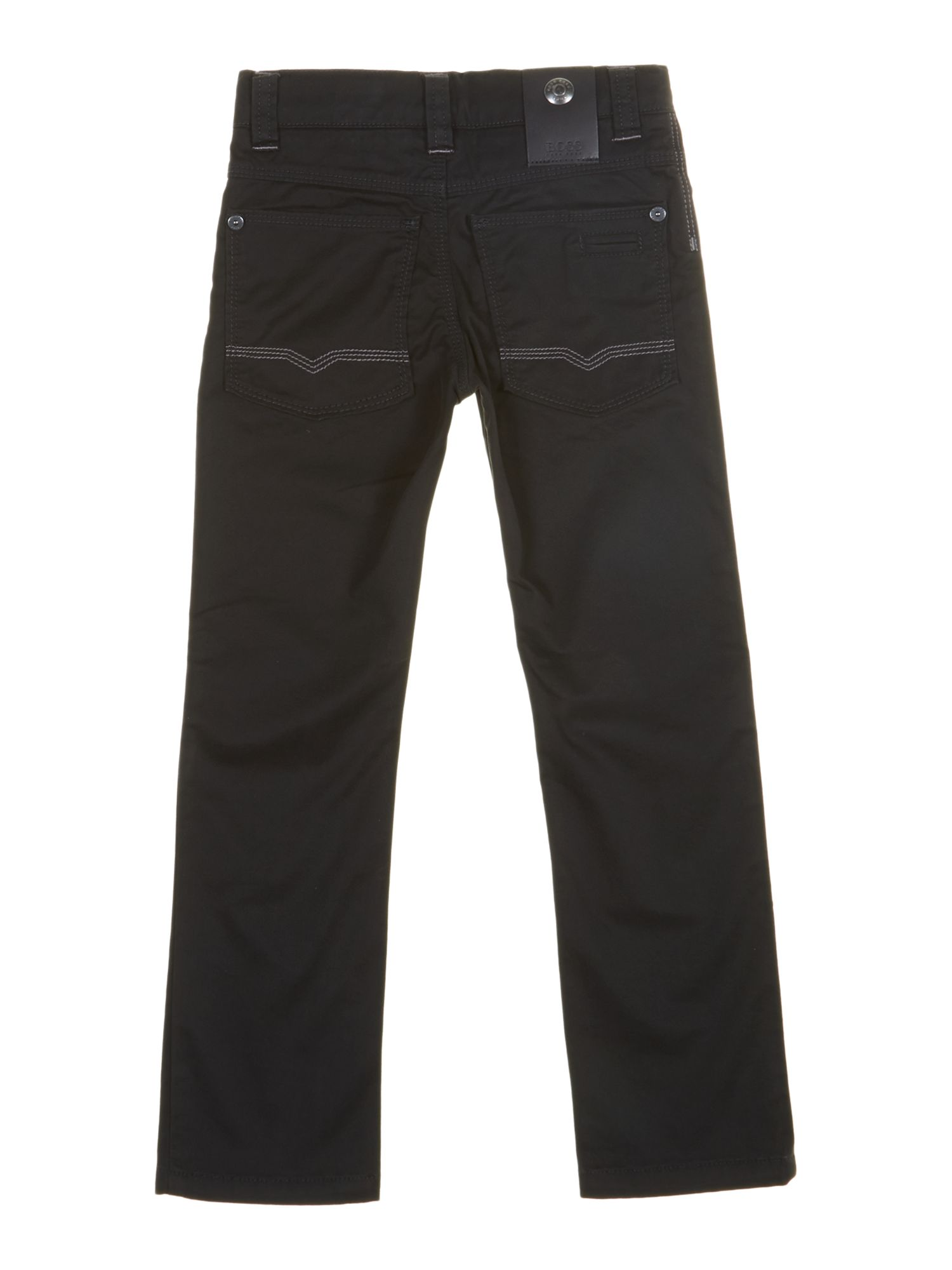 Boy`s 5 pocket stretched twill trousers