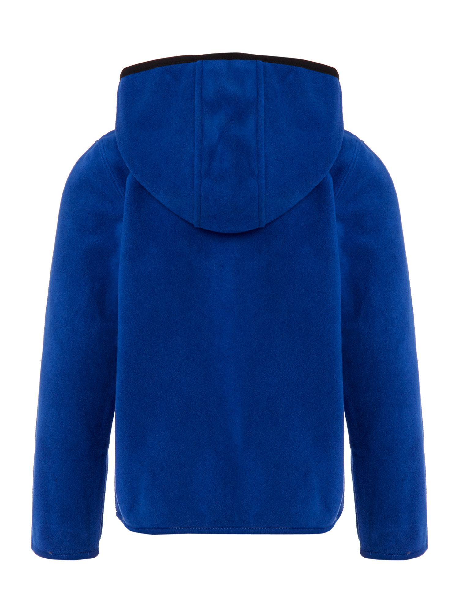 Boy`s polar fleece long sleeve cardigan