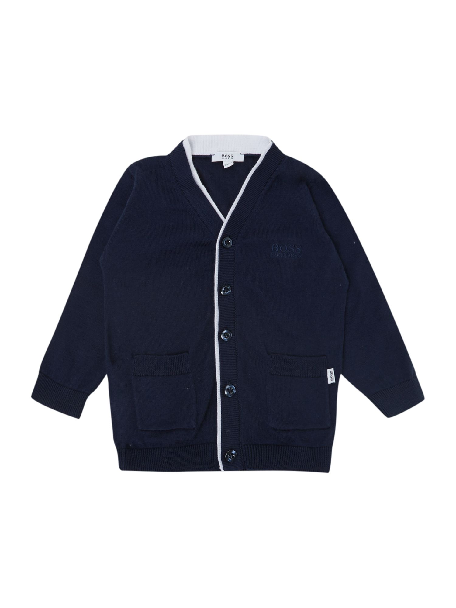 Boy`s cotton knitted cardigan