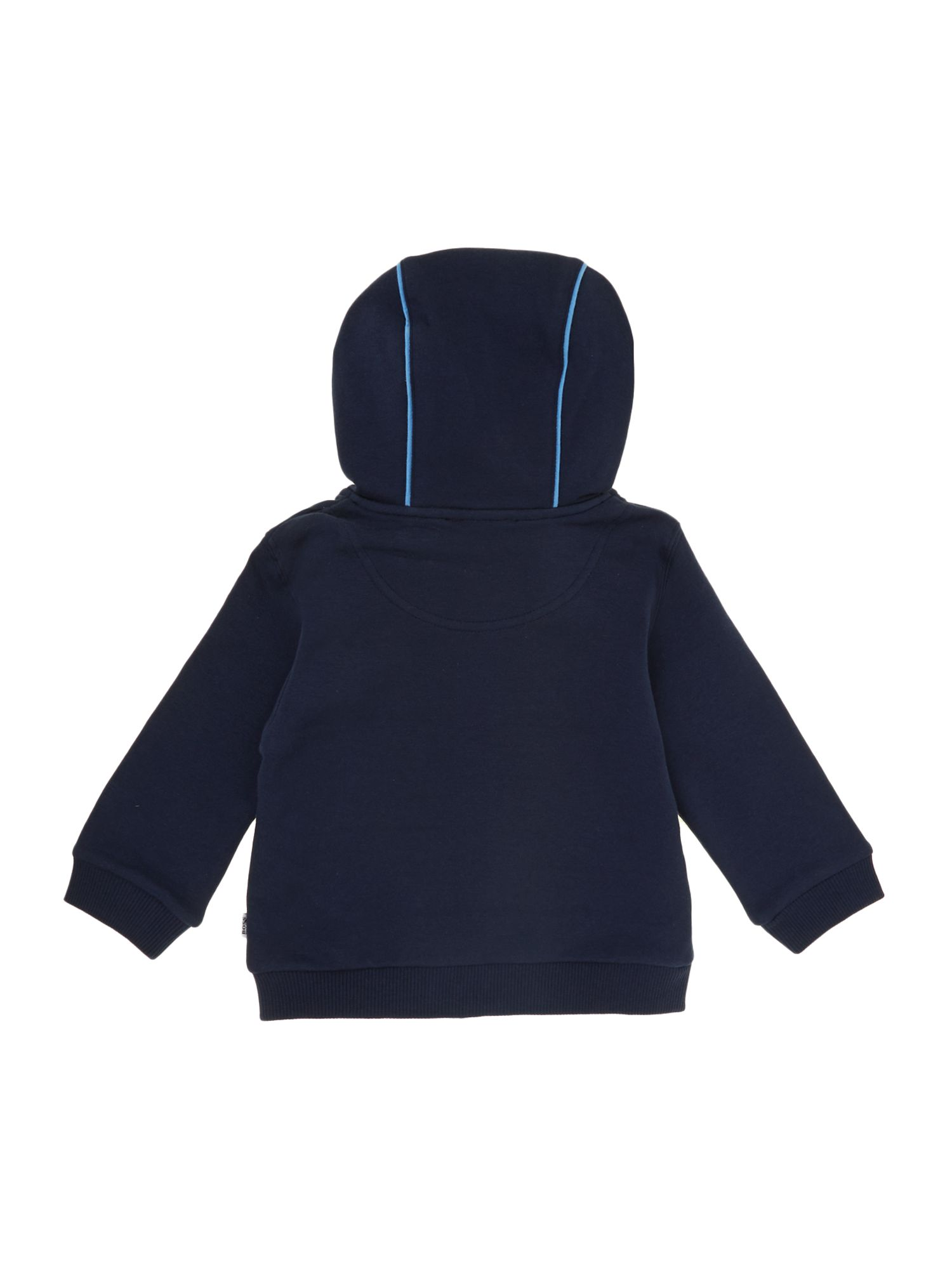 Baby boy`s long sleeve hooded top