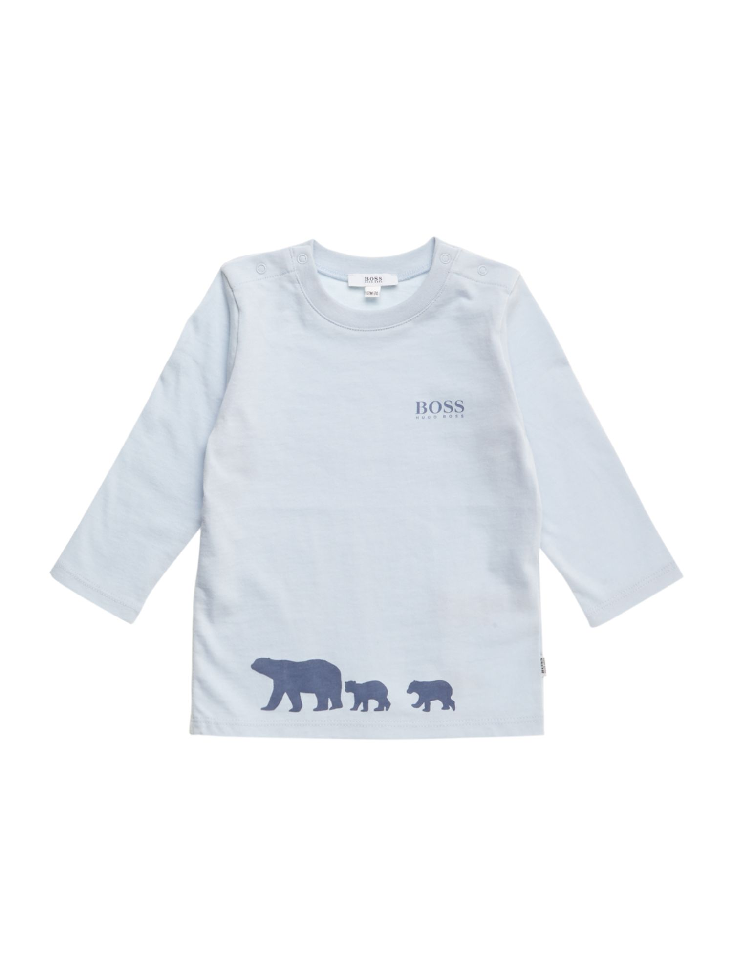 Boy`s cotton jersey long sleeve t-shirt
