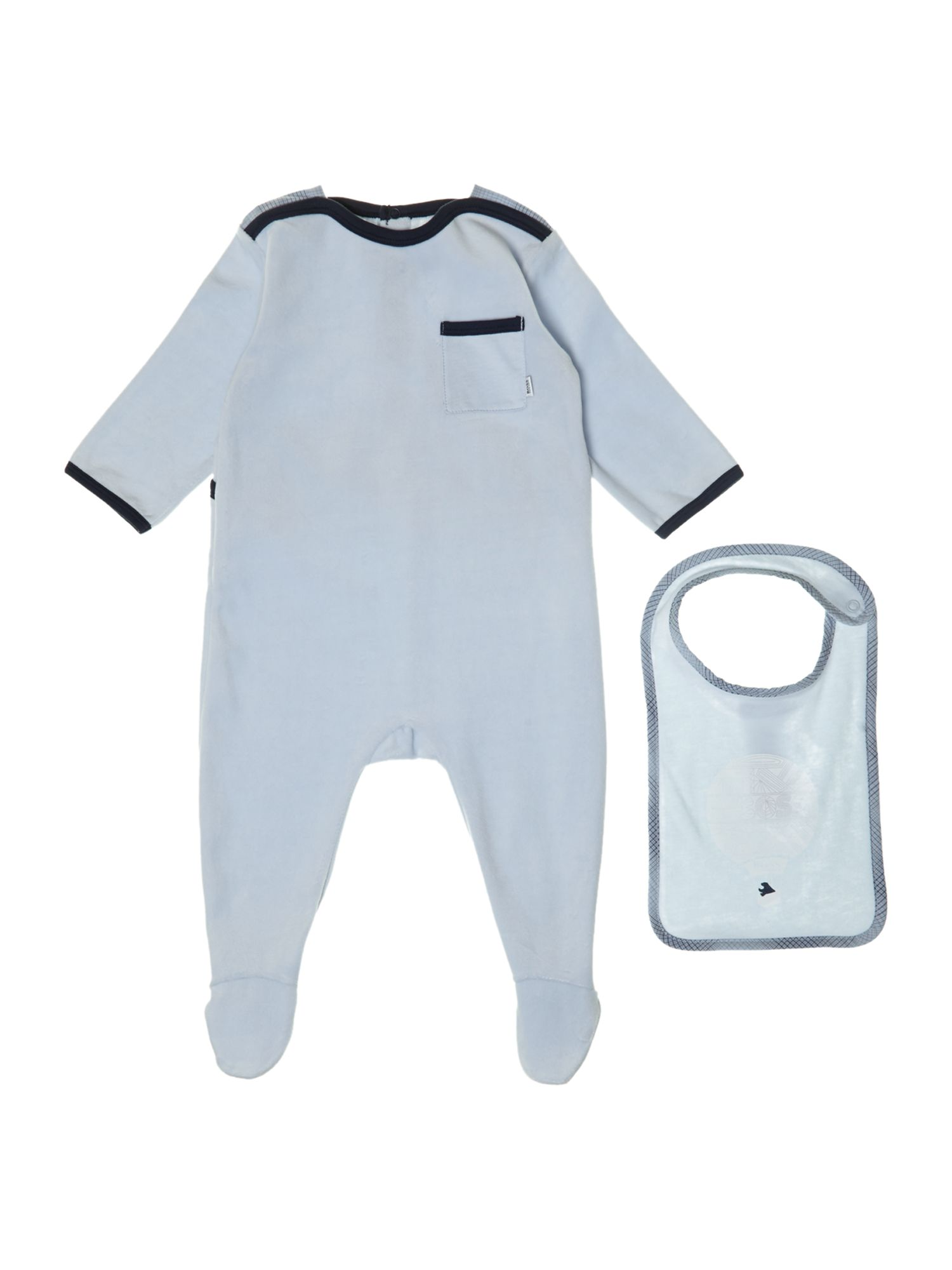 Boys all in one and jersey bib set