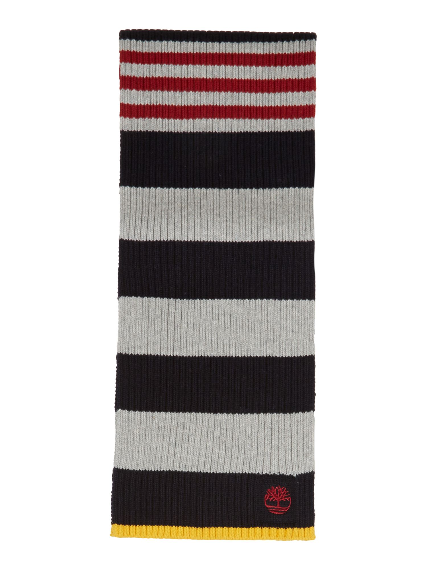 Boy`s cotton knitted scarf