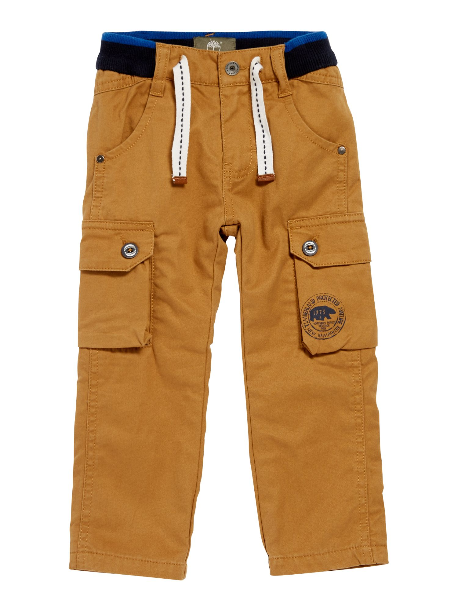 Toddler boy`s twill trousers