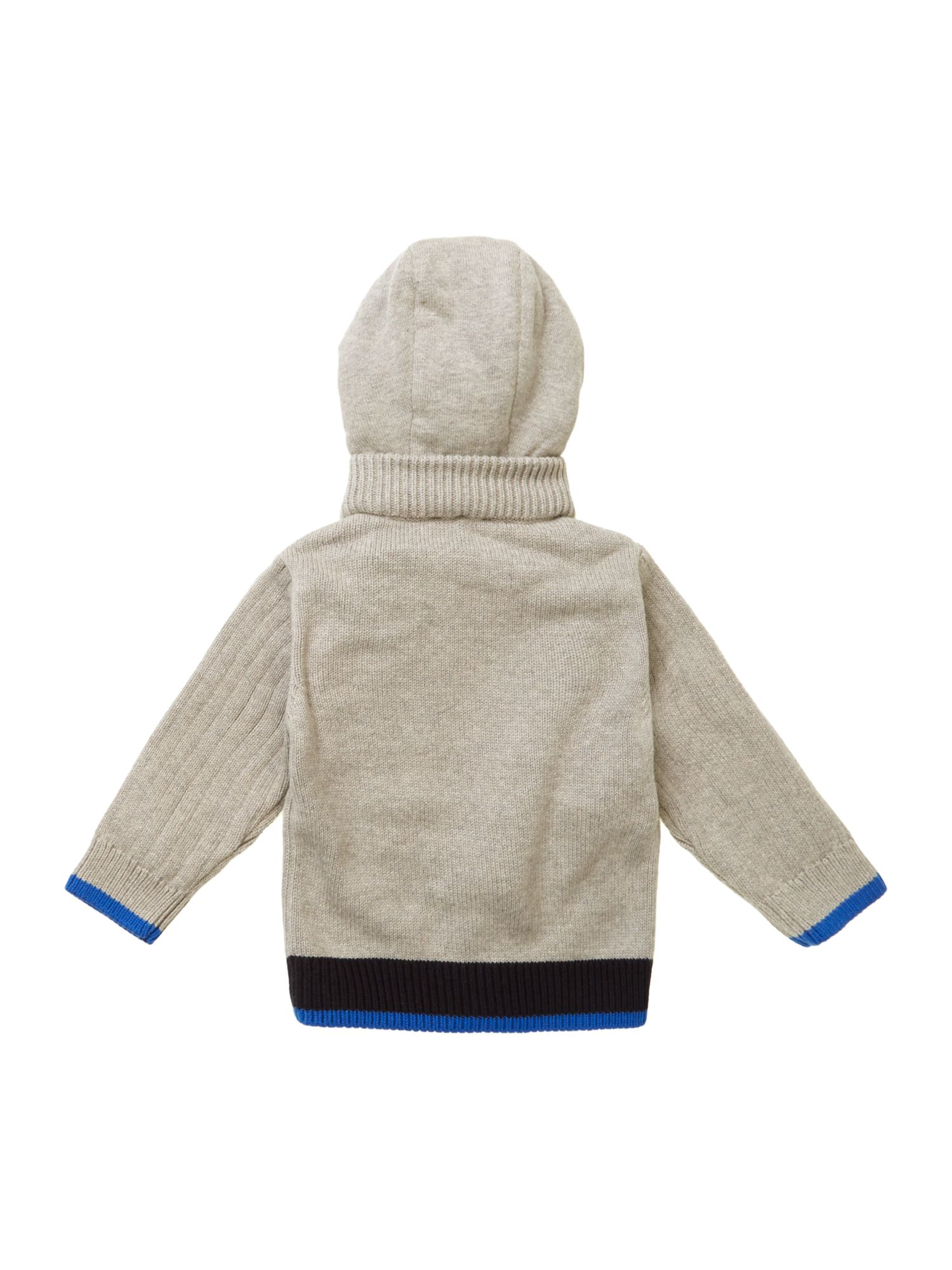 Toddler boy`s knitted cardigan