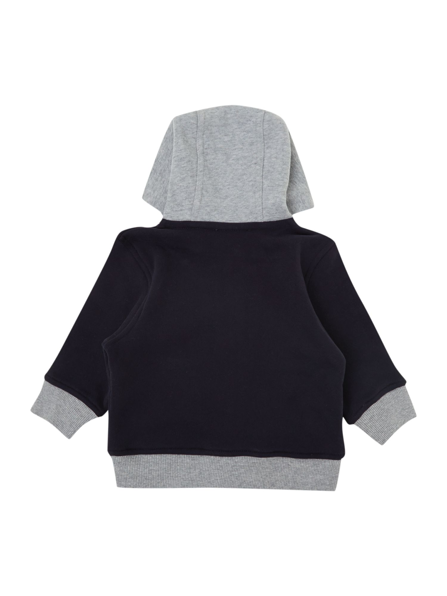 Boy`s organic cotton fleece cardigan
