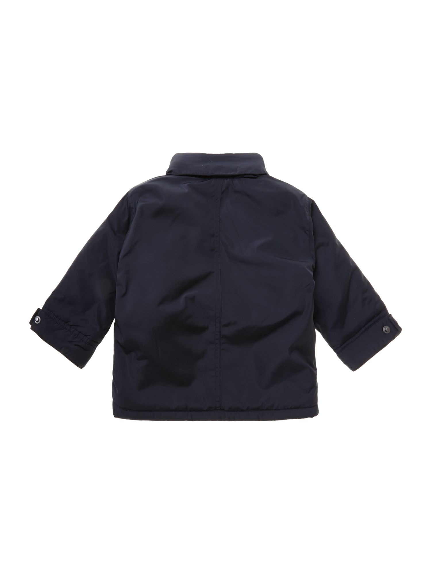 Boy`s jacket with detachable hood