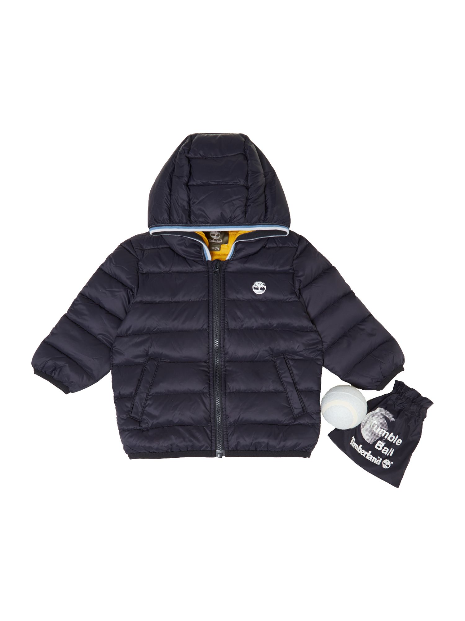 Boy`s long sleeve hooded jacket