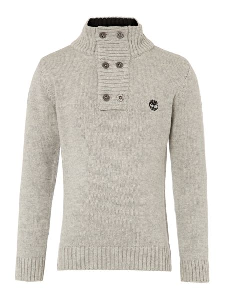 Timberland Boy`s wool knitted long sleeve sweater