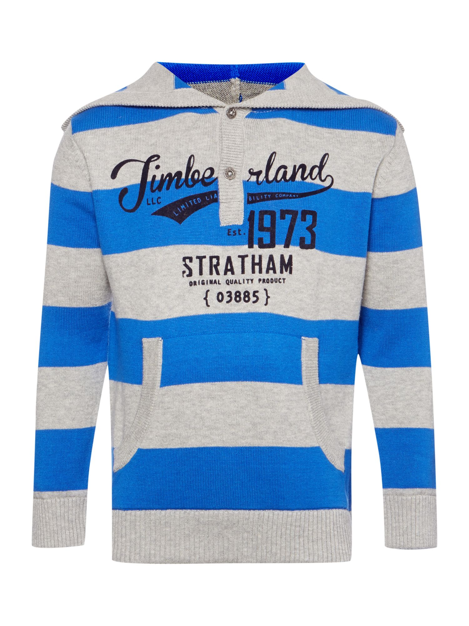 Boy`s striped knitted sweater