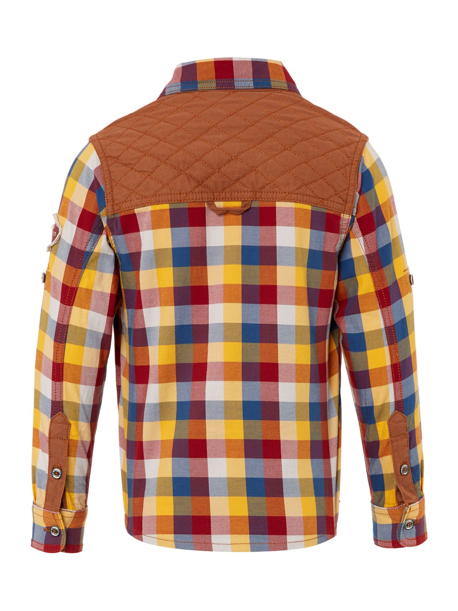 Boy`s plaid shirt