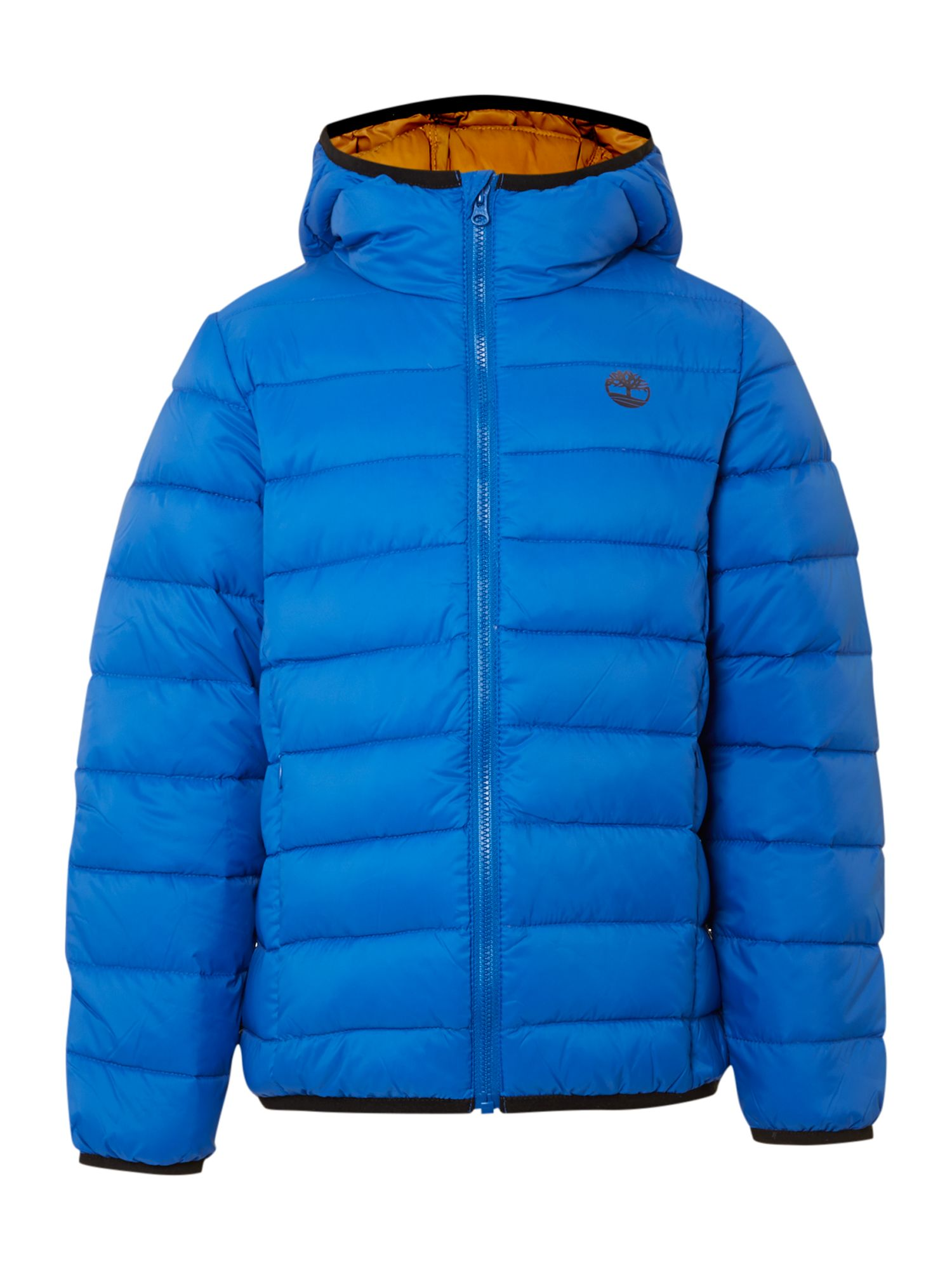 Boy`s feather padding jacket
