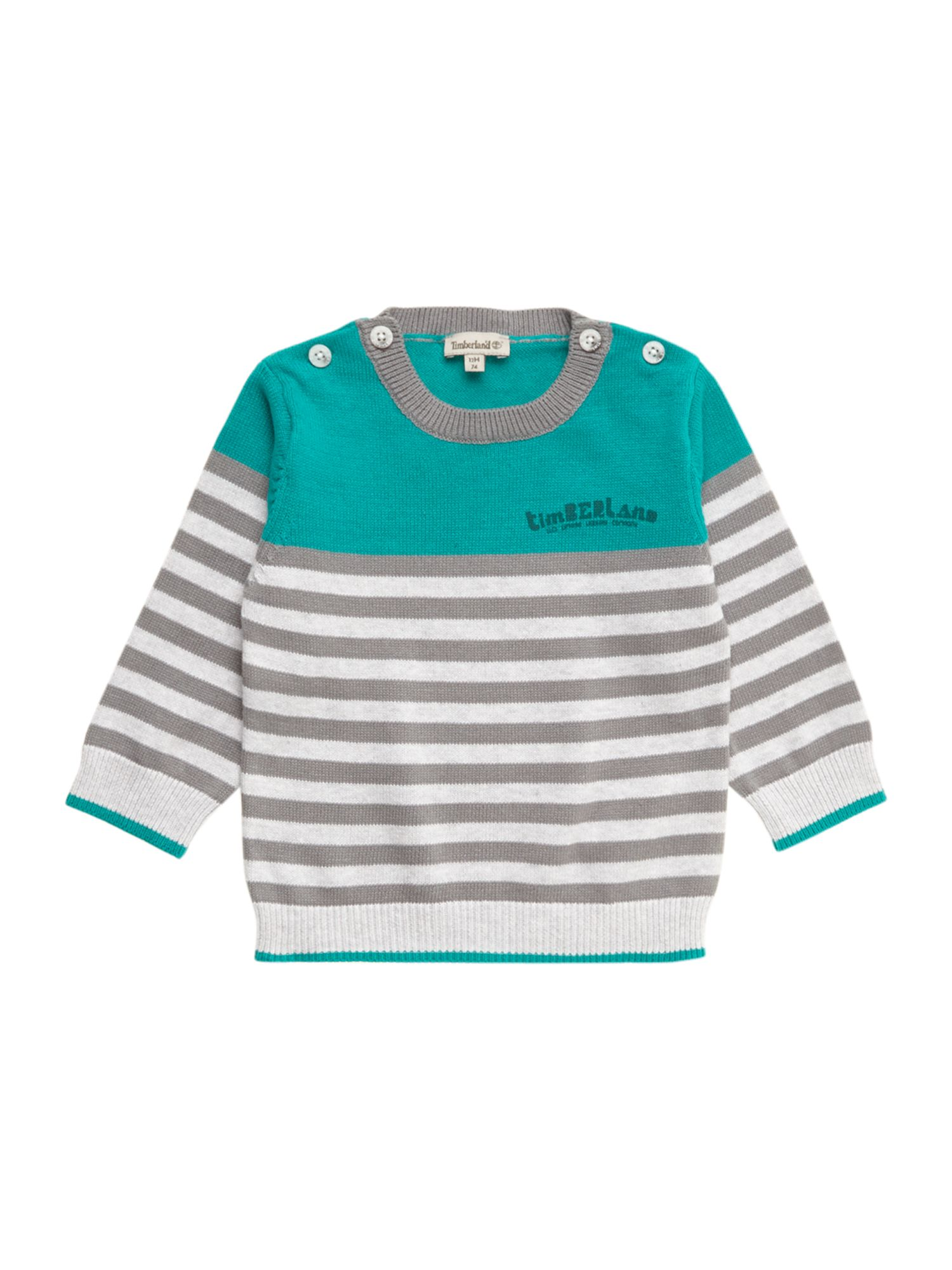 Boy`s knitted striped sweater