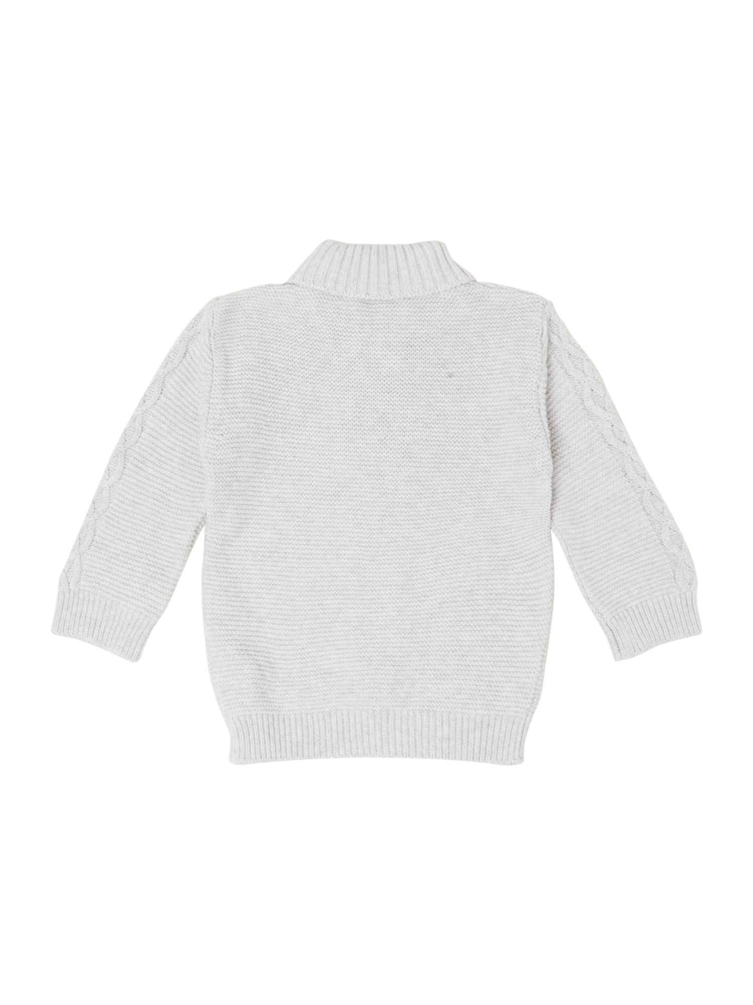 Boy`s knitted long sleeve sweater