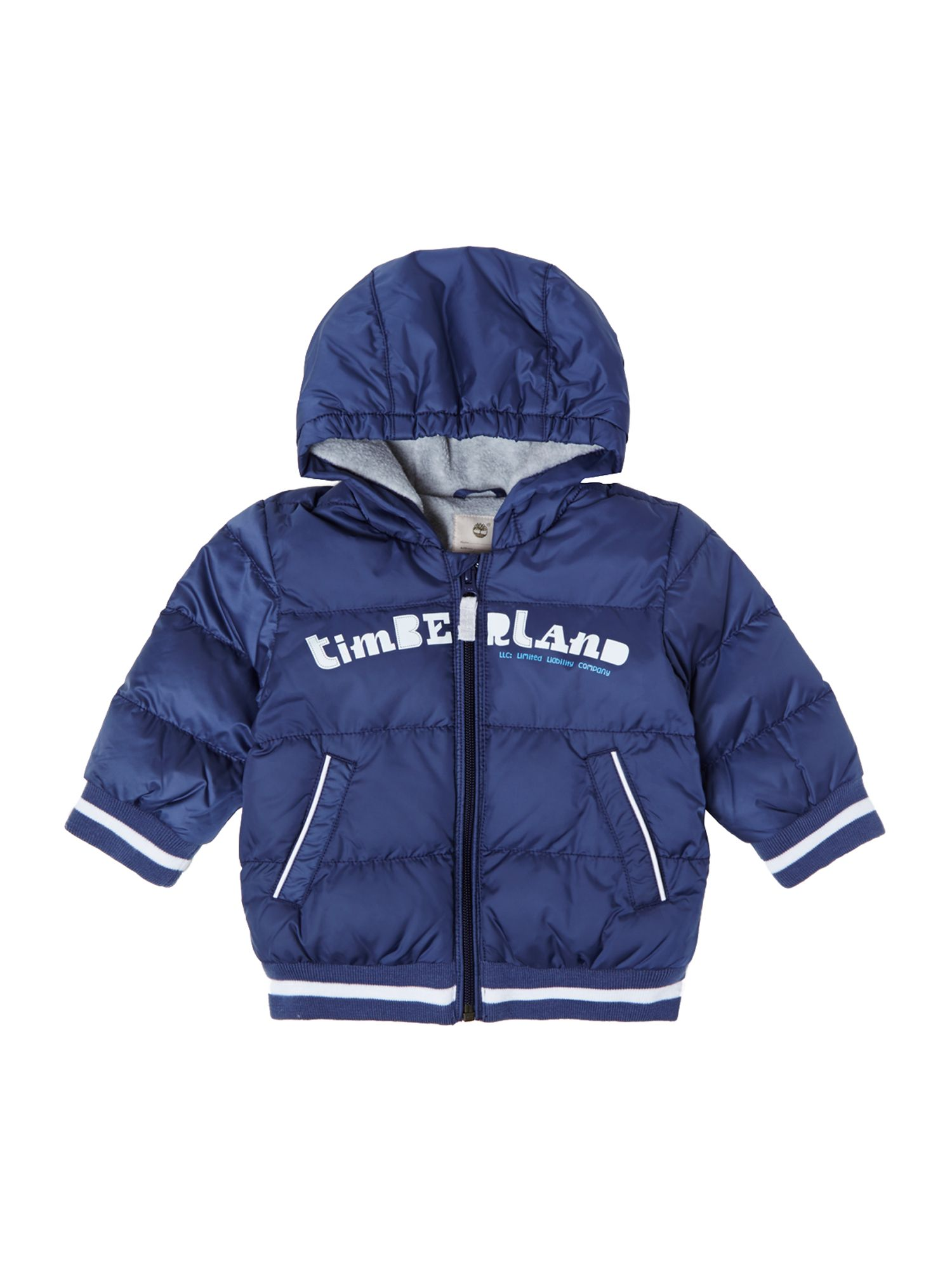 Boy`s hooded long sleeve jacket