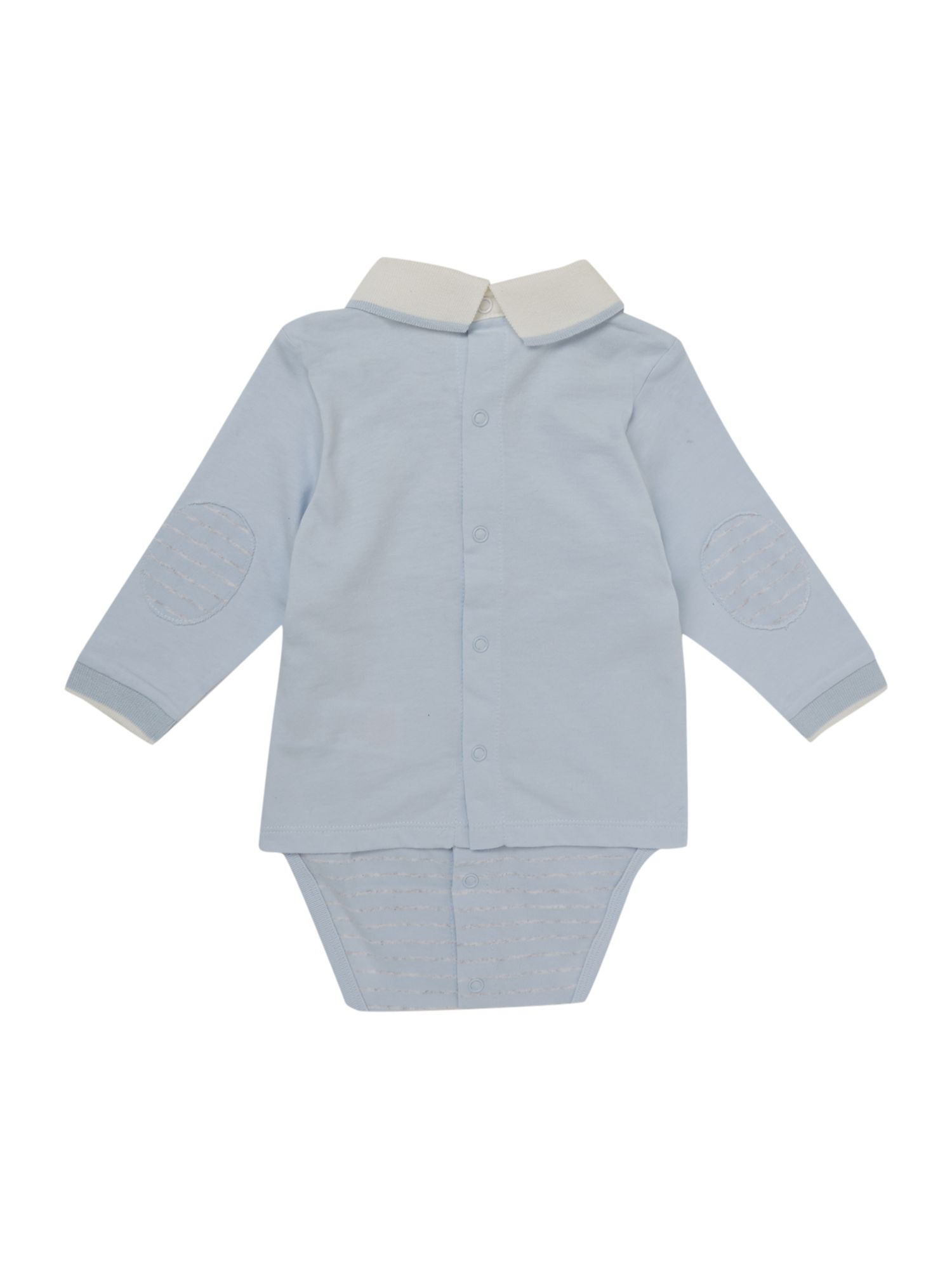 Boy`s organic cotton jersey polo-body
