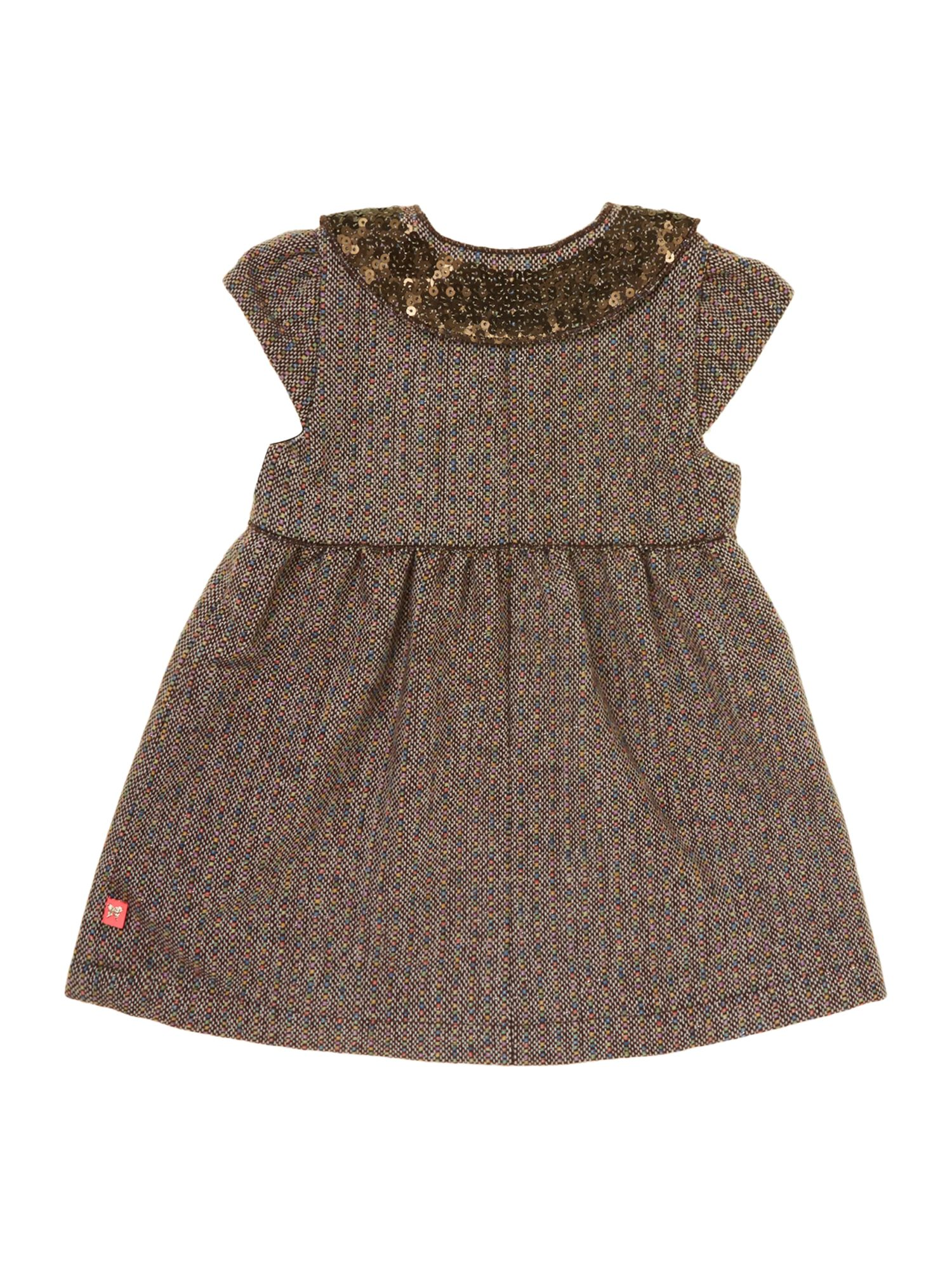 Girl`s fleece dress