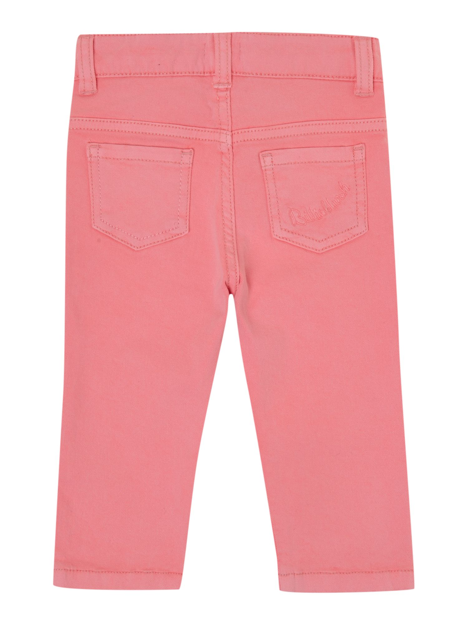 Girl`s 5 pockets drill trousers