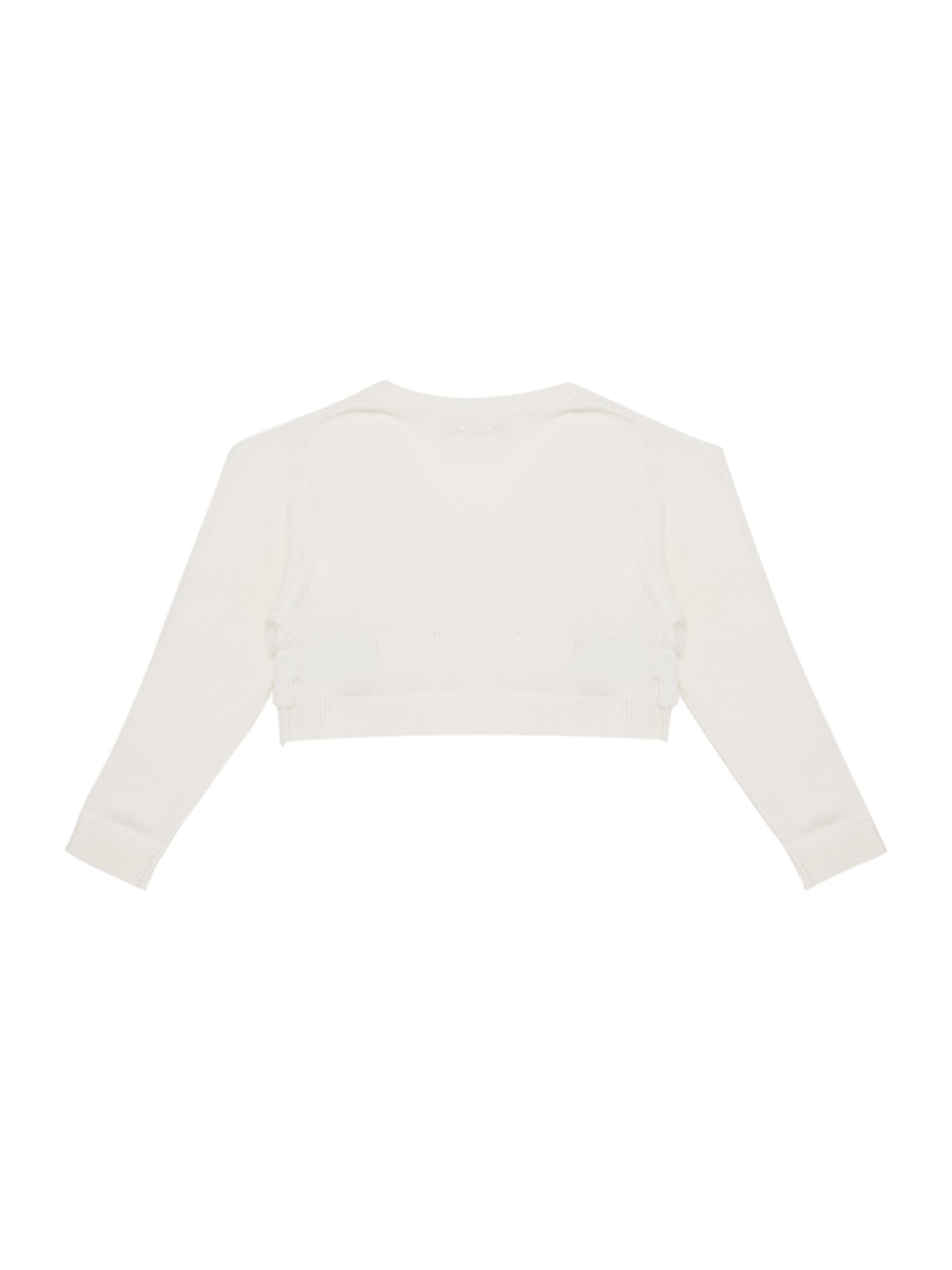 Girl`s cotton long sleeve bolero