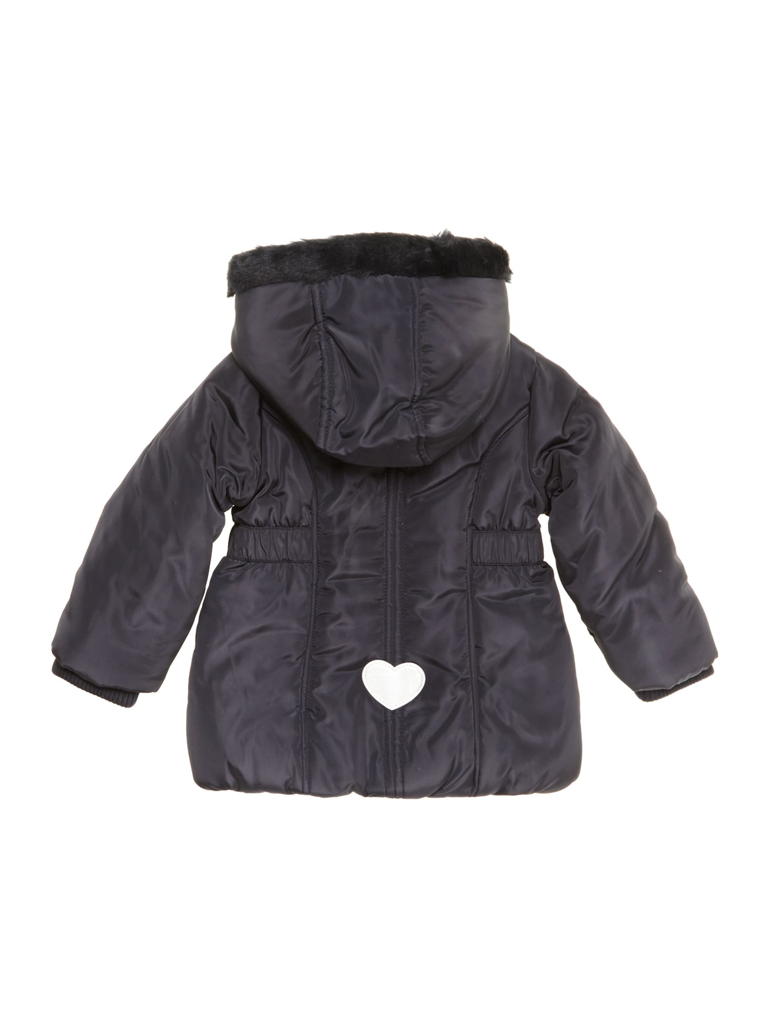 Girl`s hooded long sleeve jacket