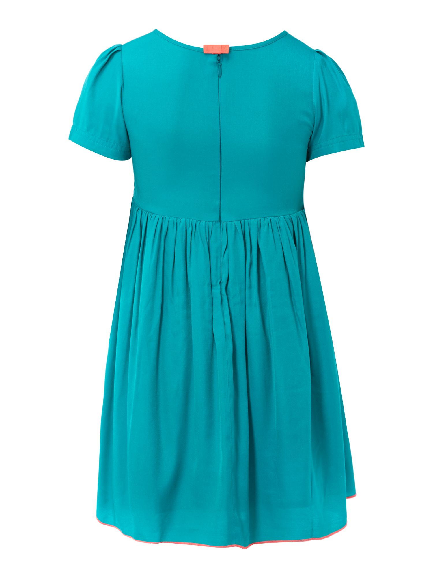 Girl`s short sleeve dress