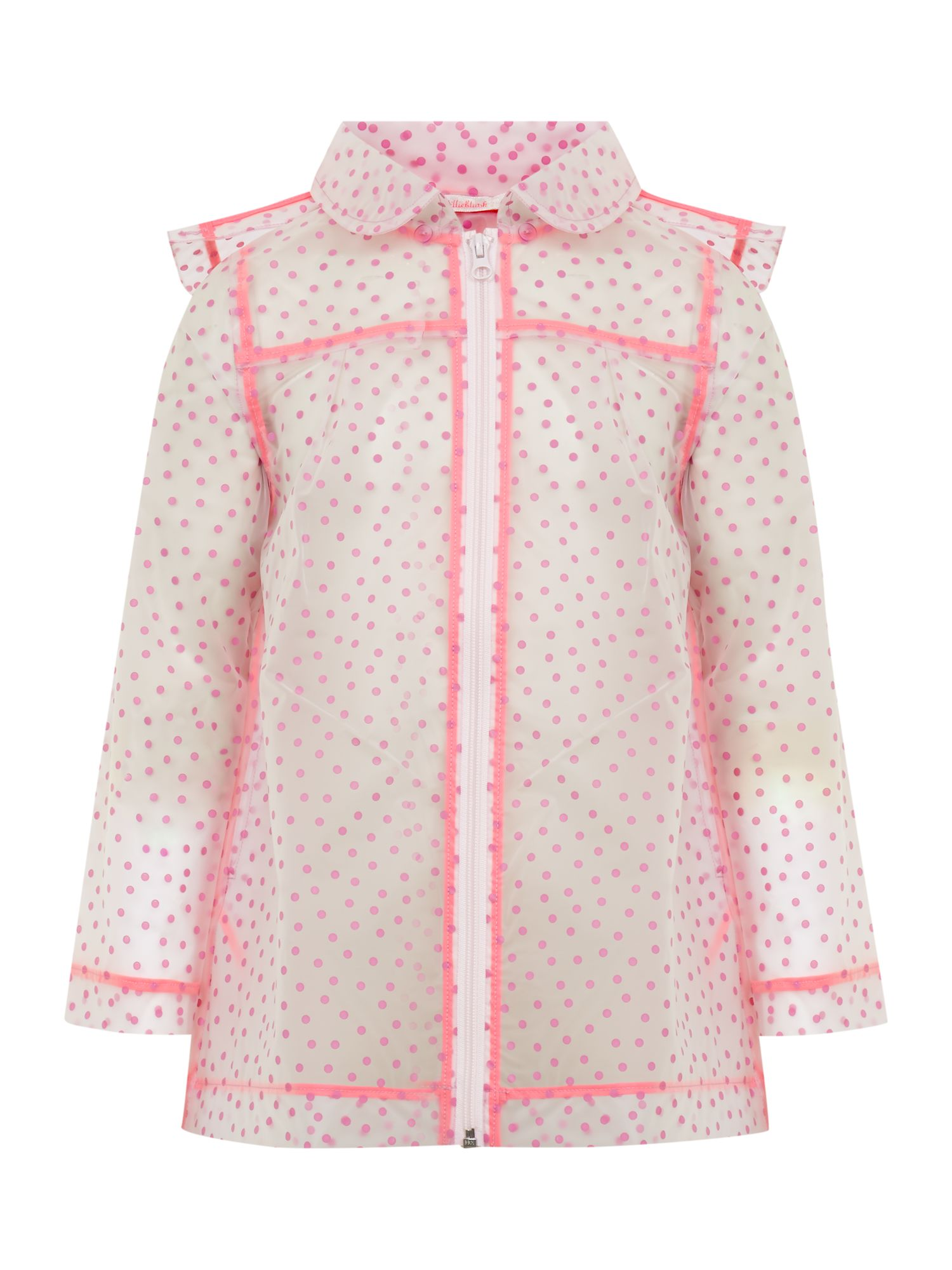 Girl`s raincoat