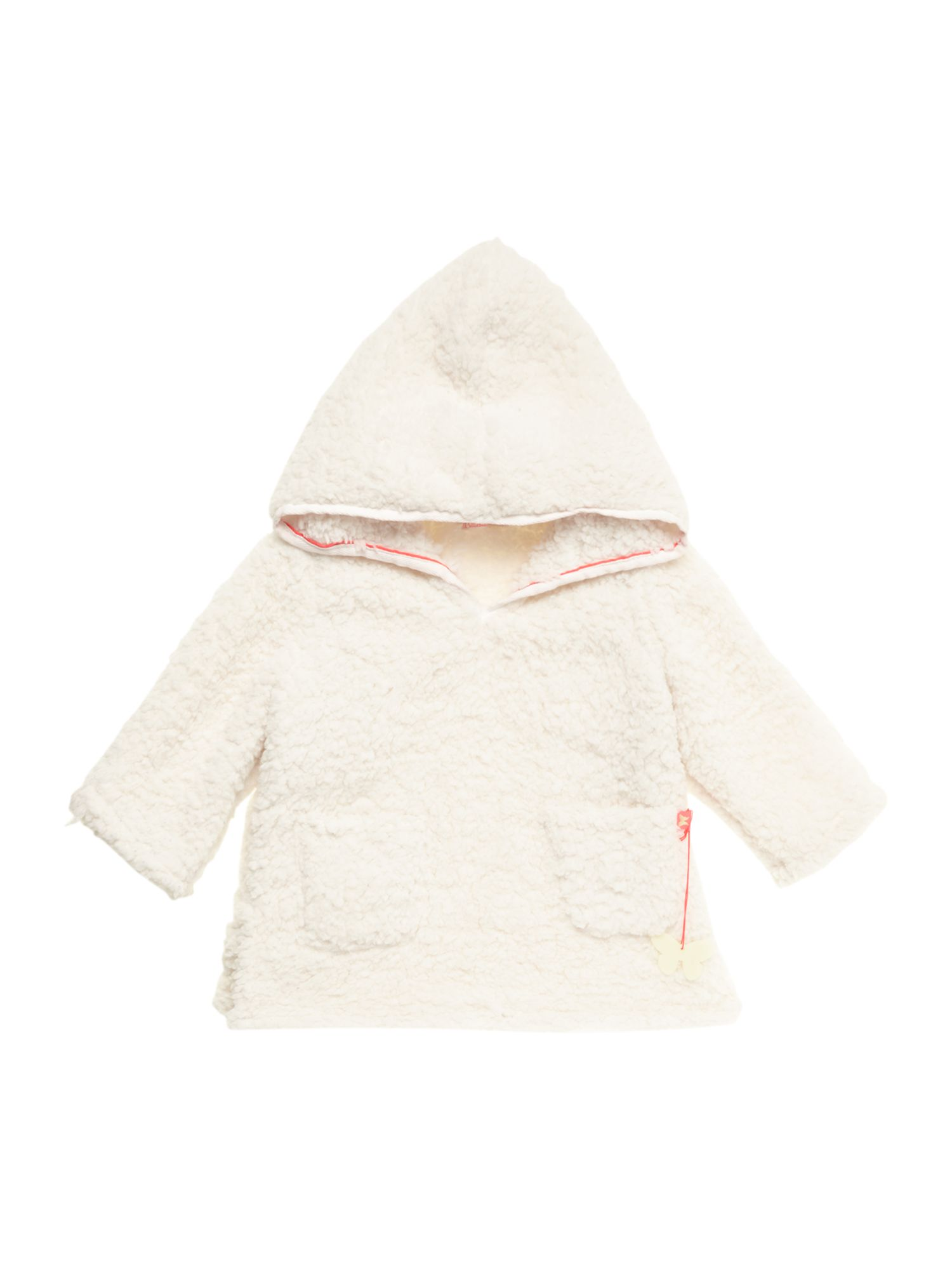 Girl`s hooded long sleeve sweat