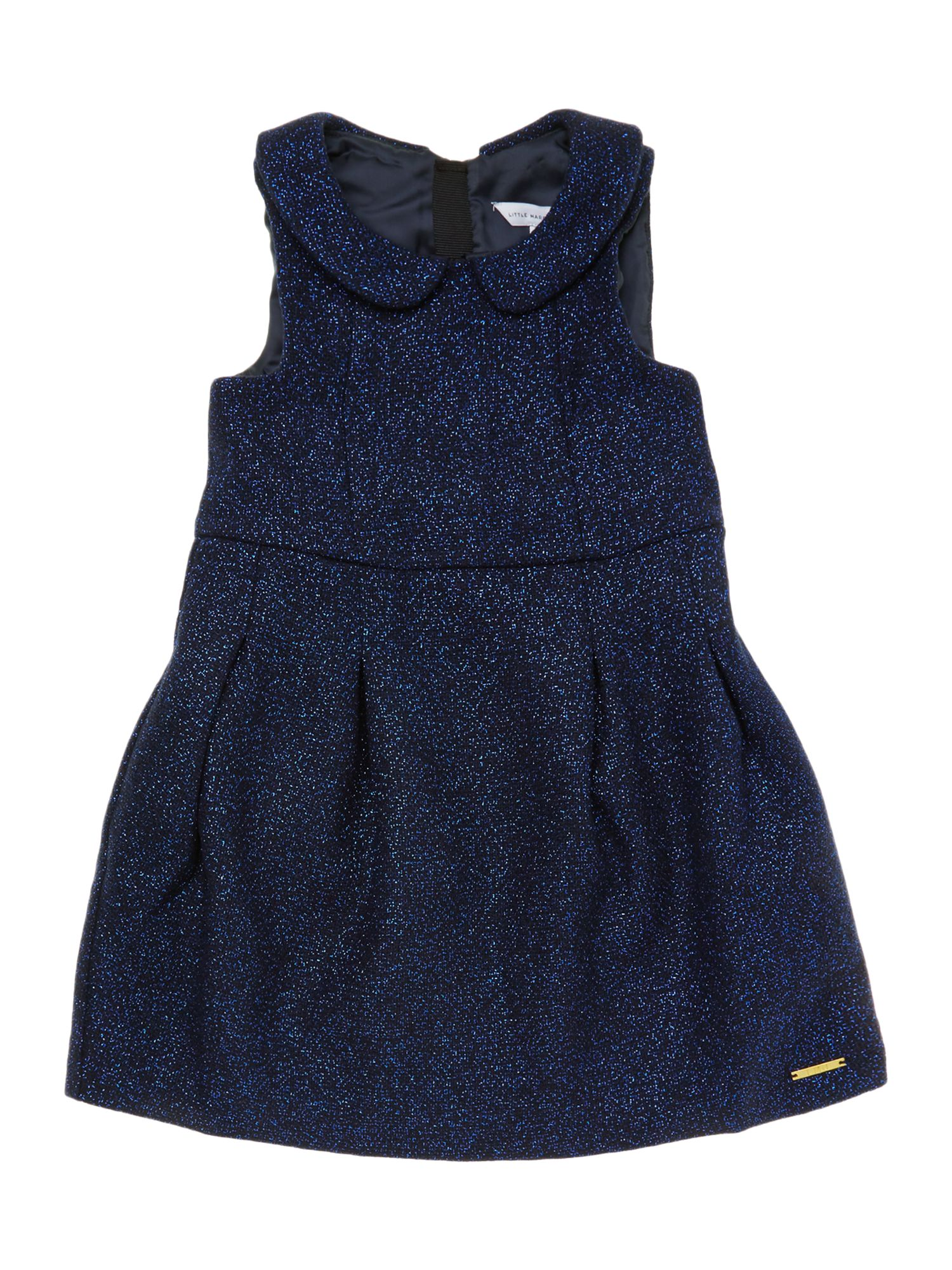 Girl`s sleeveless wollen dress