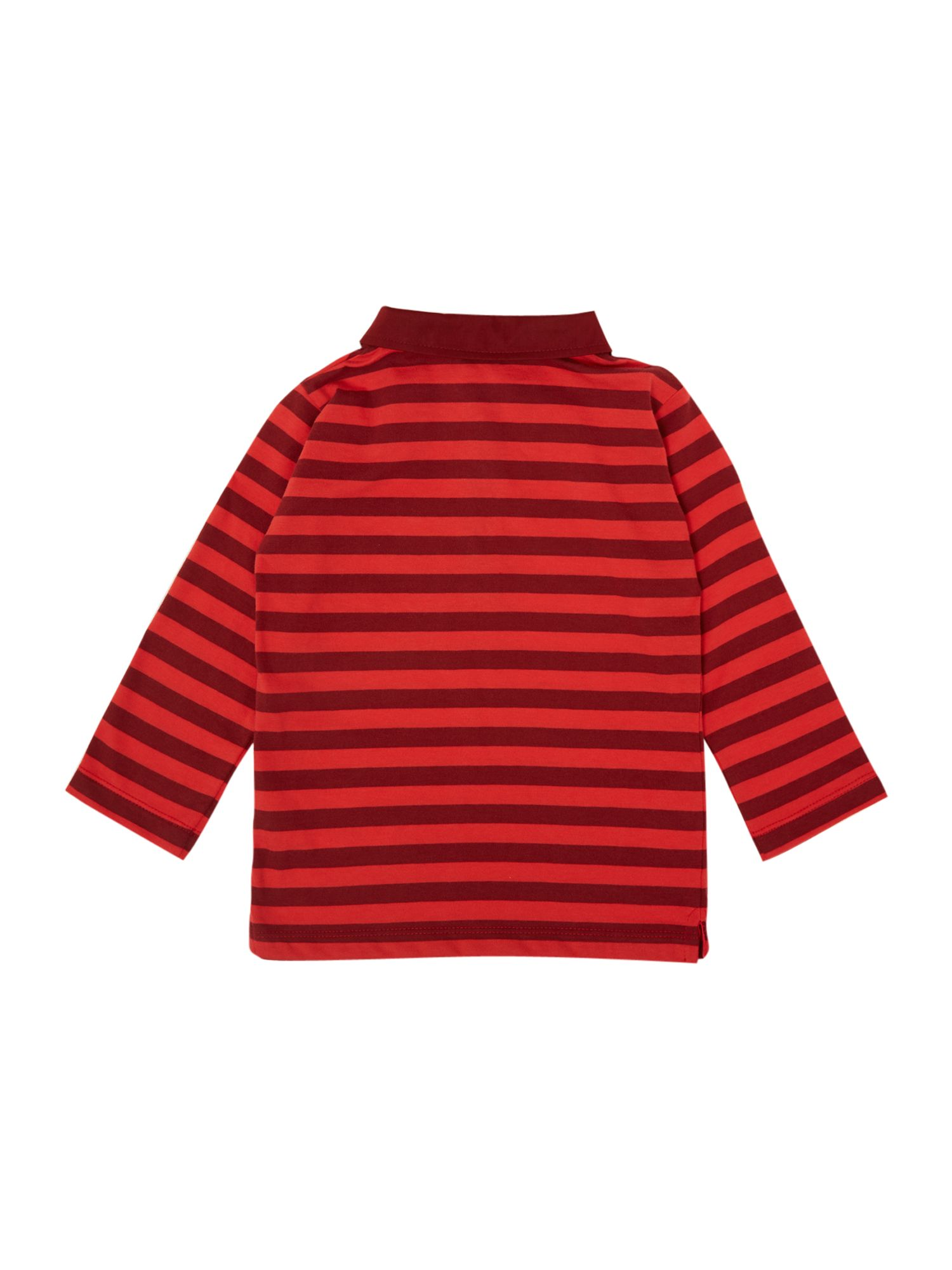 Boy`s long sleeve polo t-shirt
