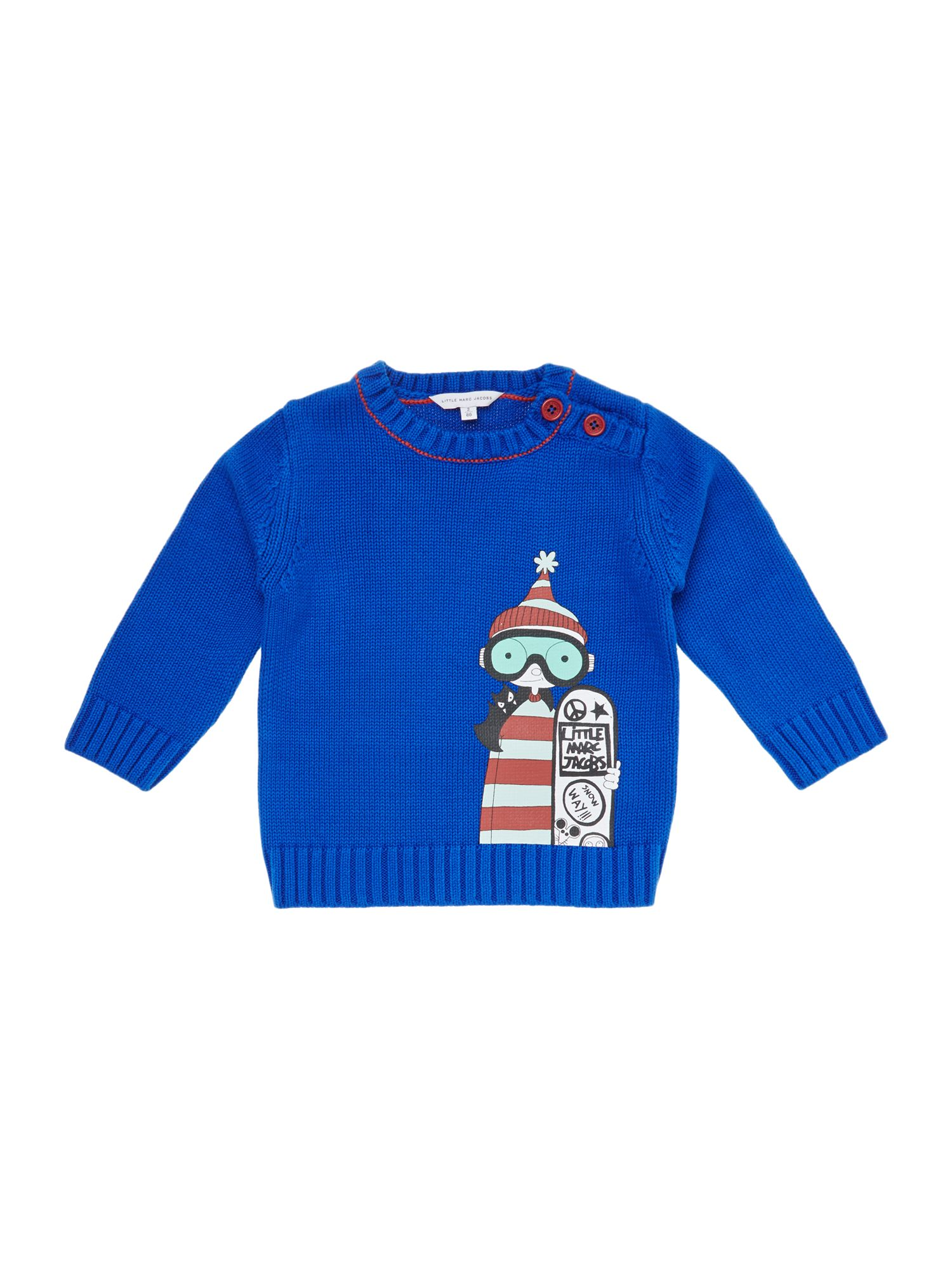 Boy`s long sleeve knitted sweater