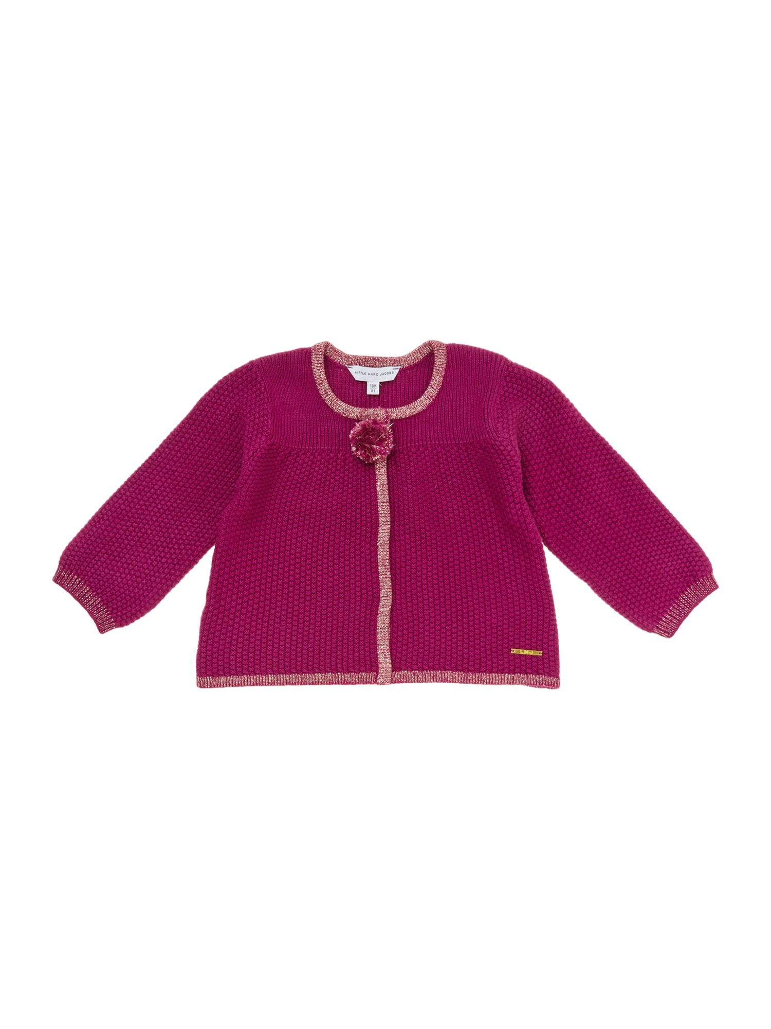 Girl`s knitted cardigan