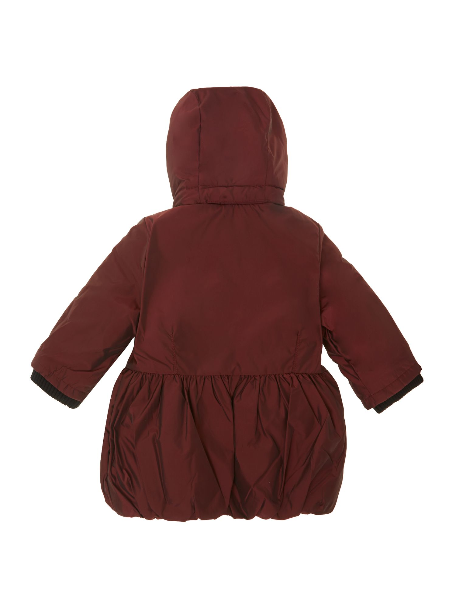Toddler Girl`s Hooded Long Sleeve Parka