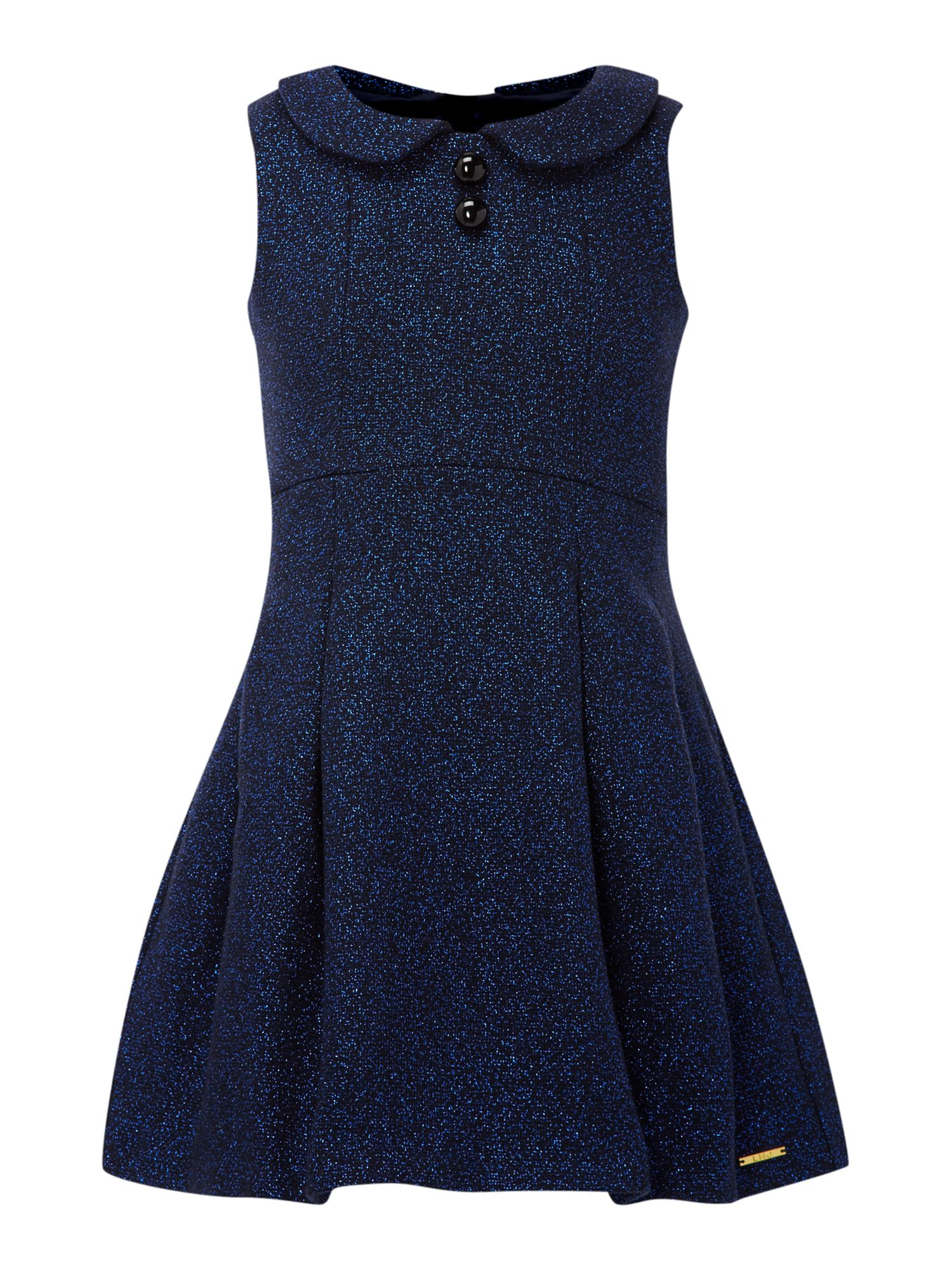 Girl`s woollen sleeveless dress