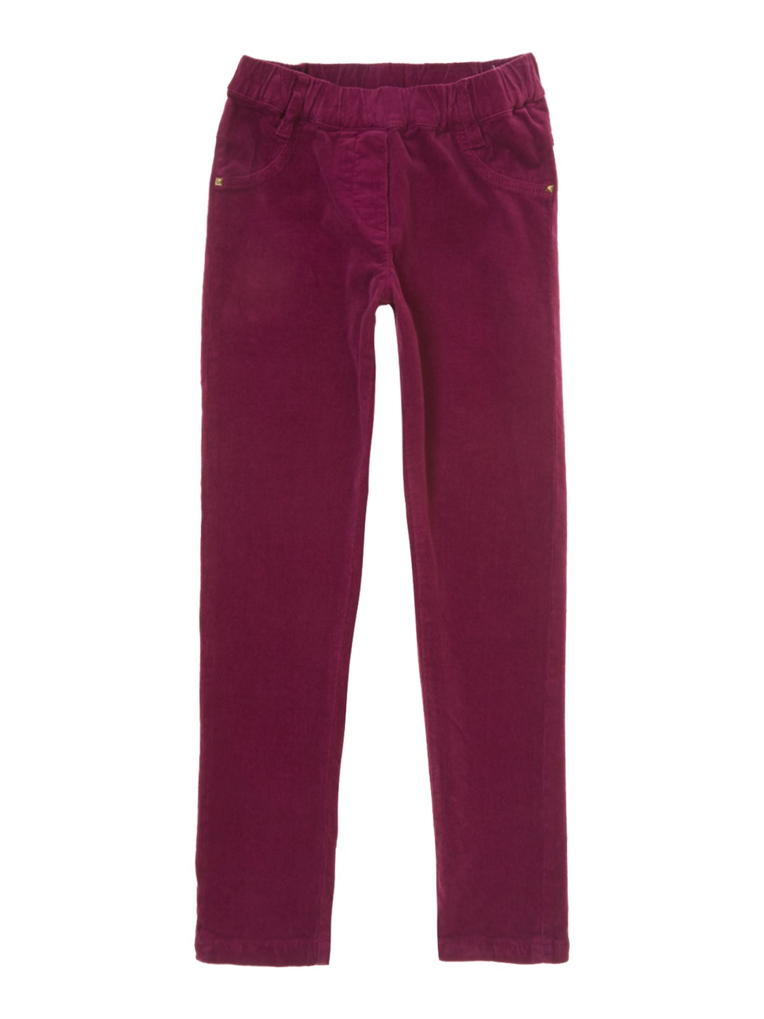 Girl`s velvet jegging