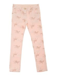 Girl`s stretch jean trousers