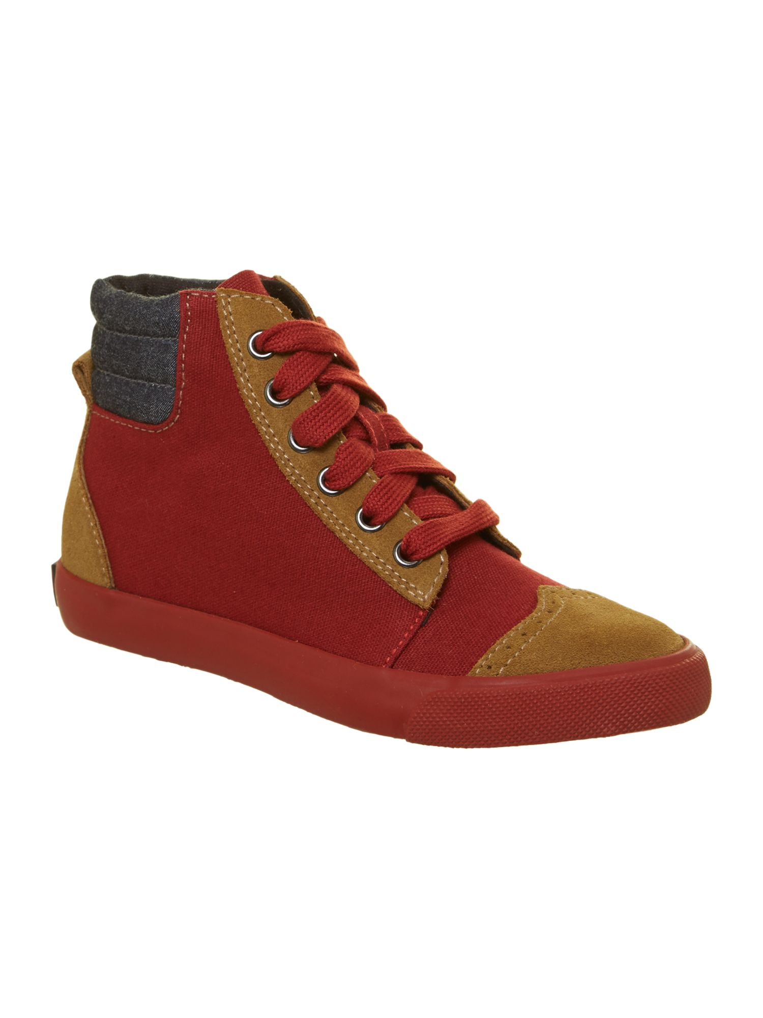 Boy`s leather trainers