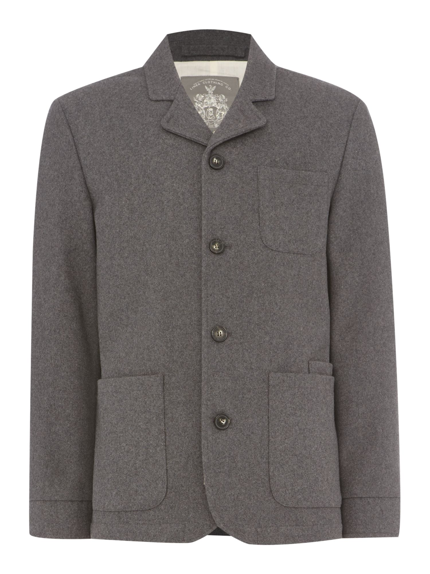 odeon wool blazer
