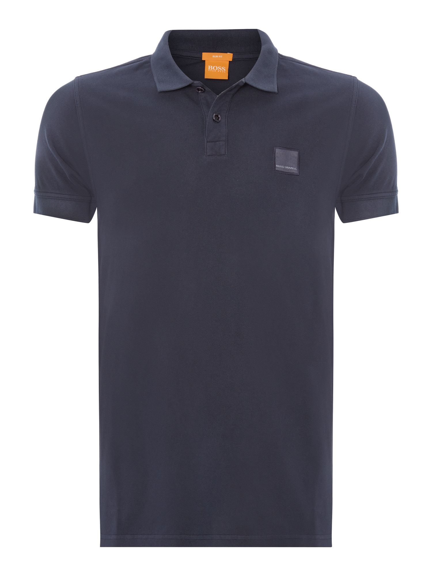 Men's Hugo Boss Pascha Slim Fit Logo Polo Shirt, Blue