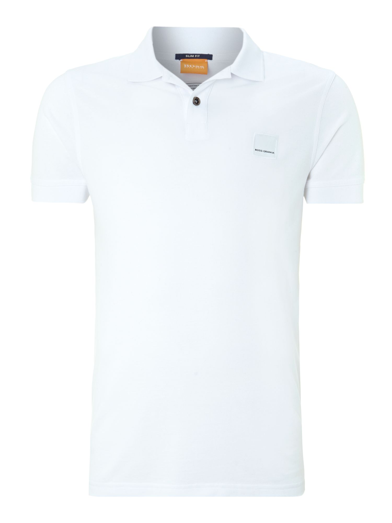 Men's Hugo Boss Pascha Slim Fit Logo Polo Shirt, White