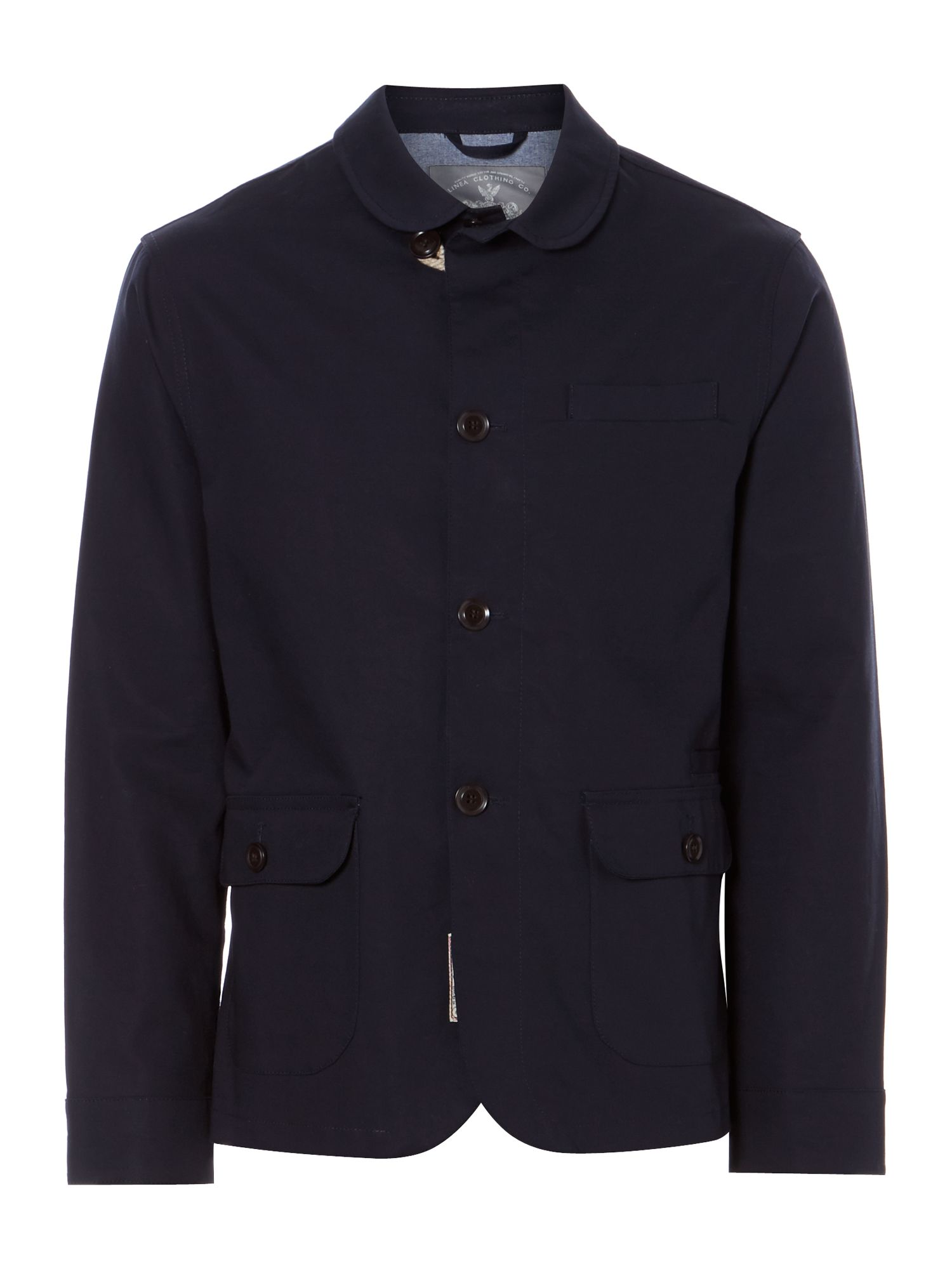 augustin bonded shawl collar jacket