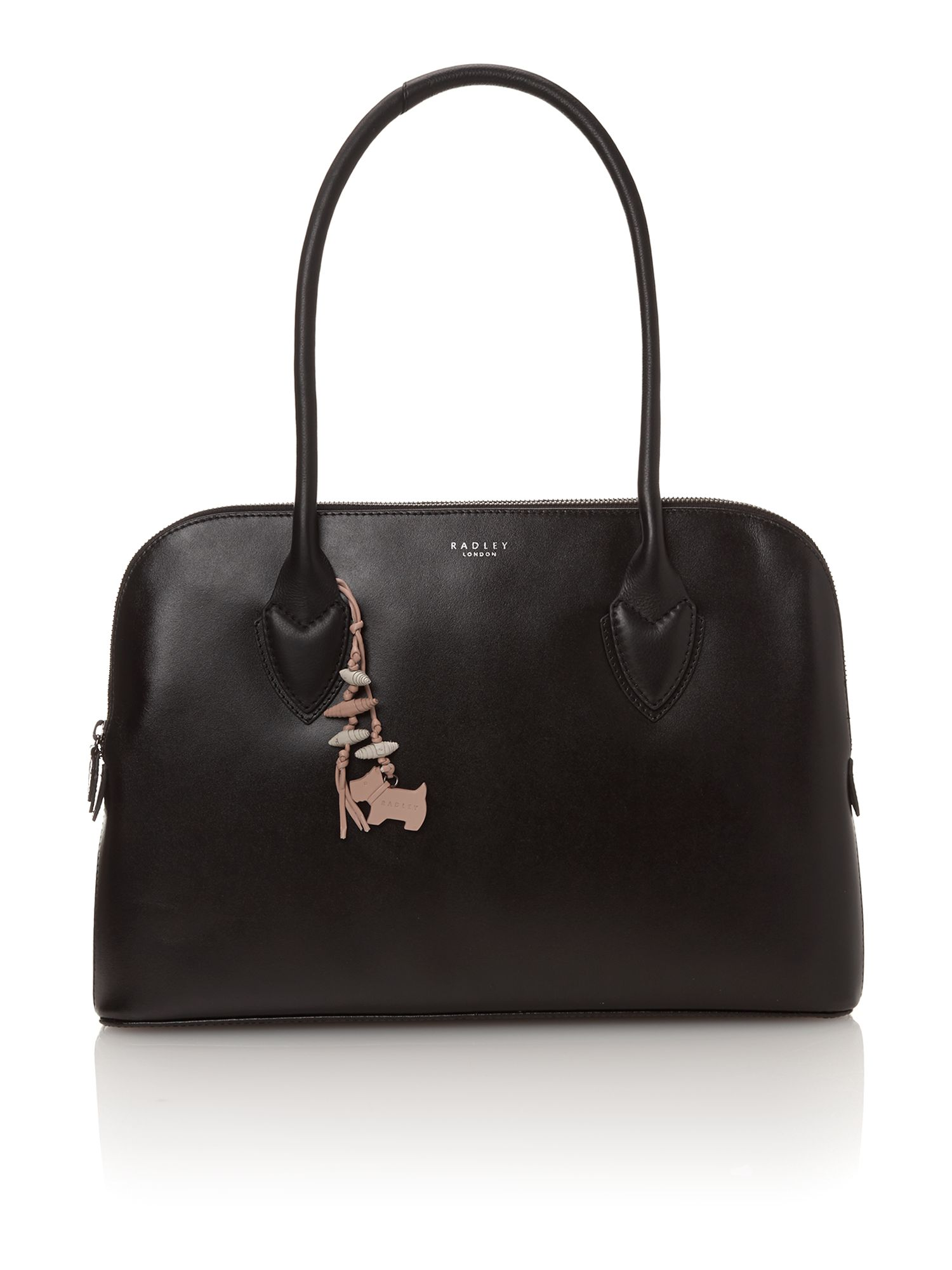 Aldgate black large tote bag