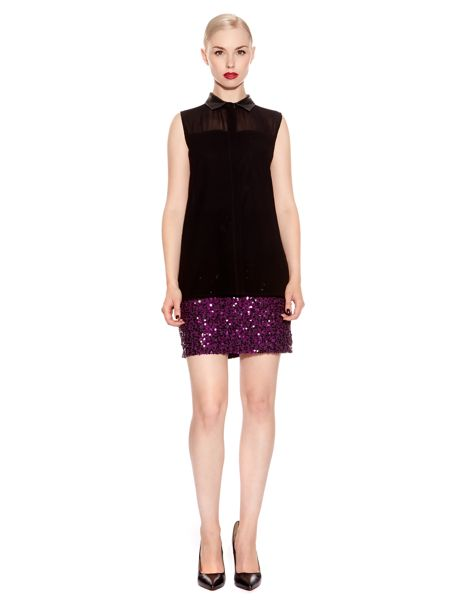 Pied a Terre Sequin skirt