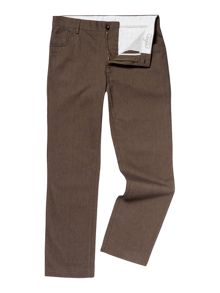 Linea navier 5 pocket cotton trousers