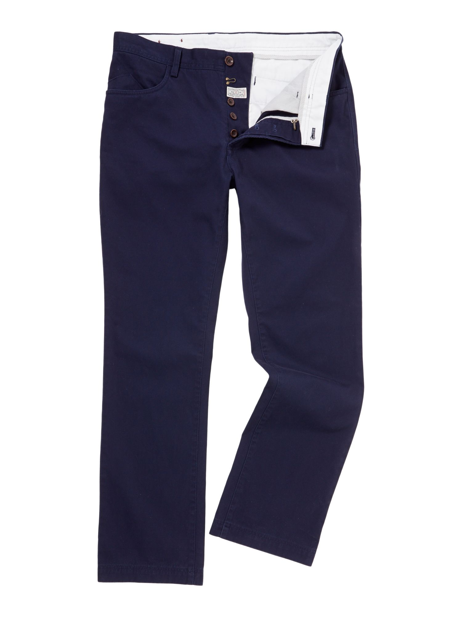 marius 5 pocket twill trousers